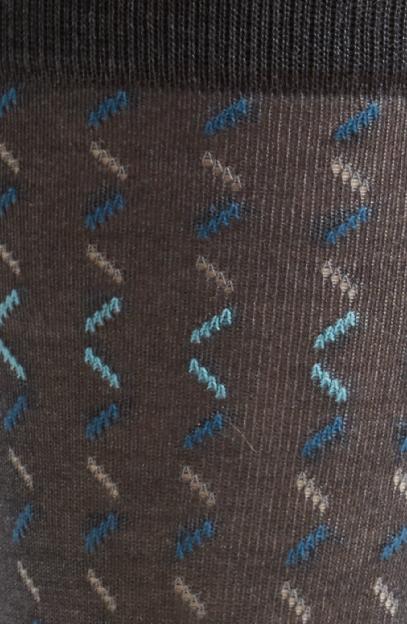 Dash Socks,                             Alternate thumbnail 2, color,                             Charcoal/ Teal