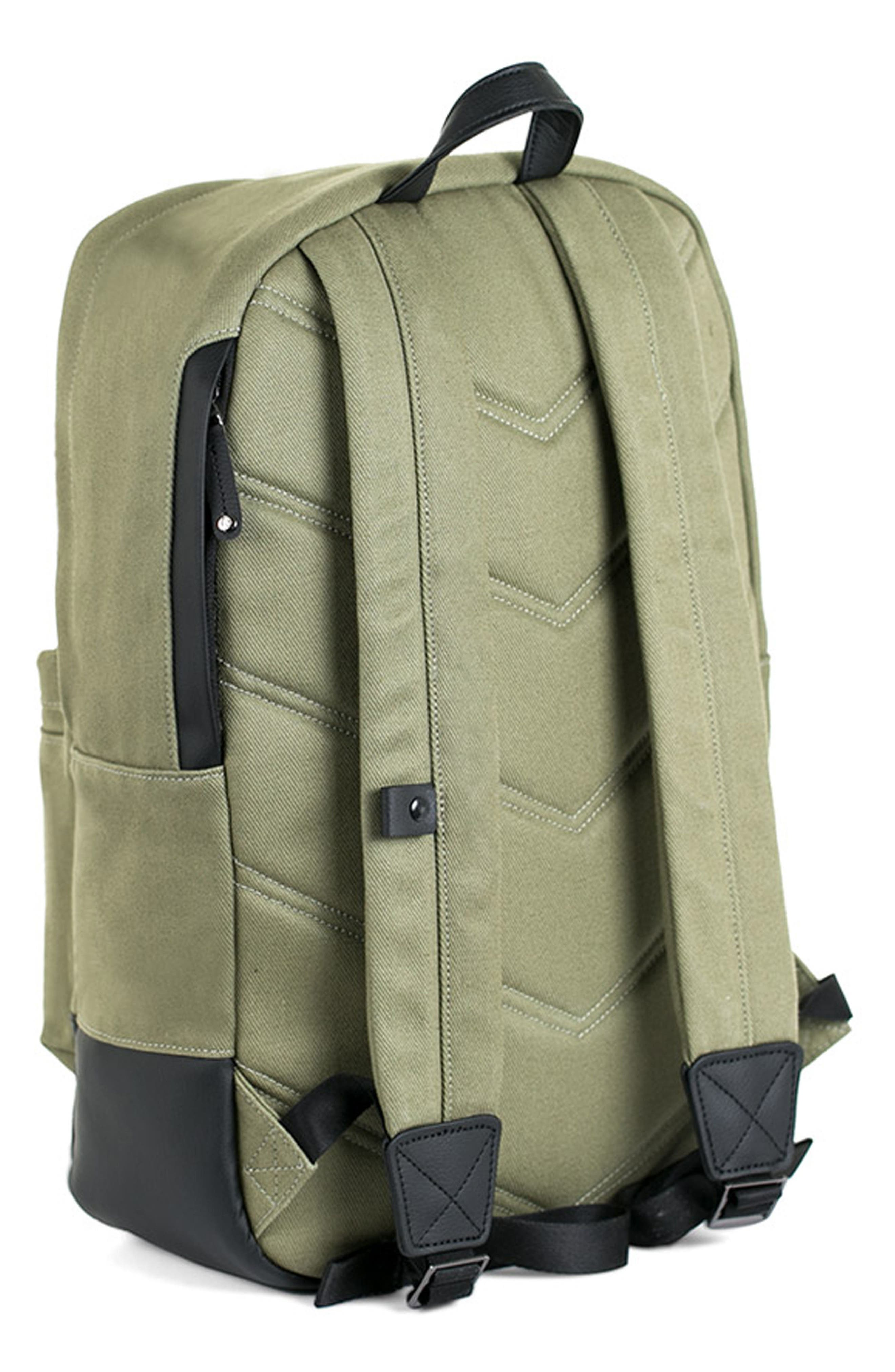 Refined Backpack,                             Alternate thumbnail 2, color,                             Olive