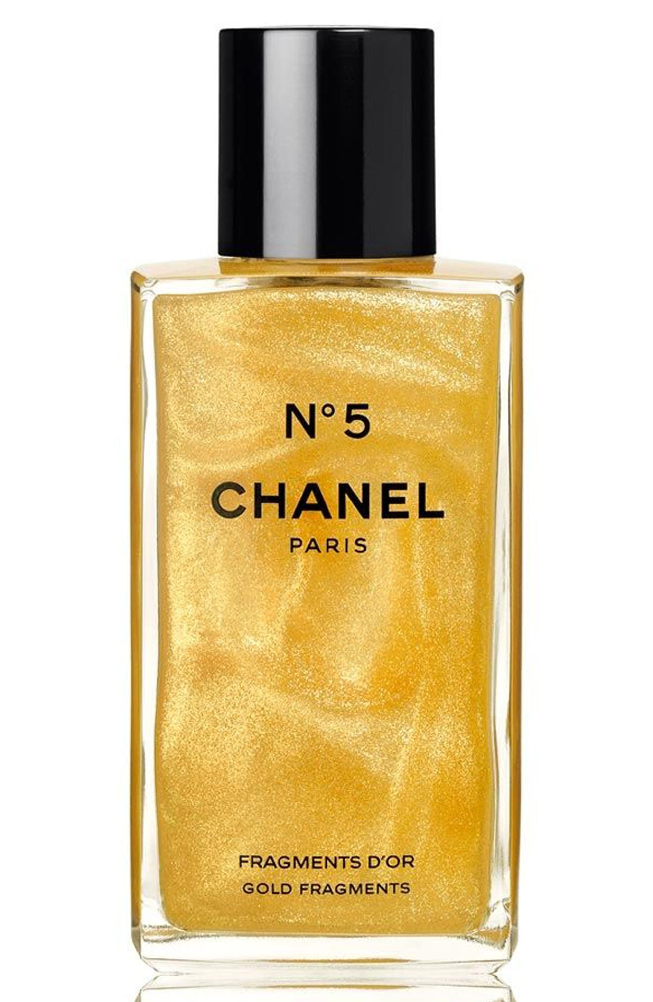 CHANEL N°5 GOLD FRAGMENTS Shimmering Gel