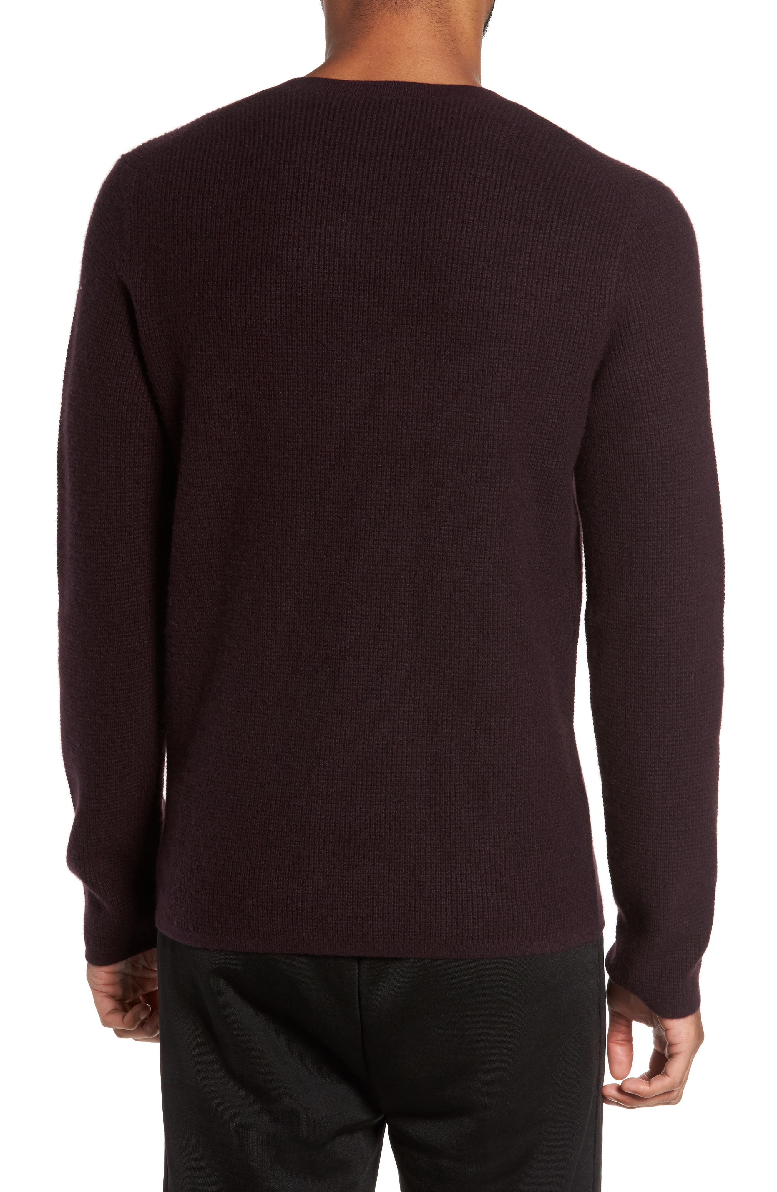 Alternate Image 2  - Vince Thermal Wool & Cashmere Sweater