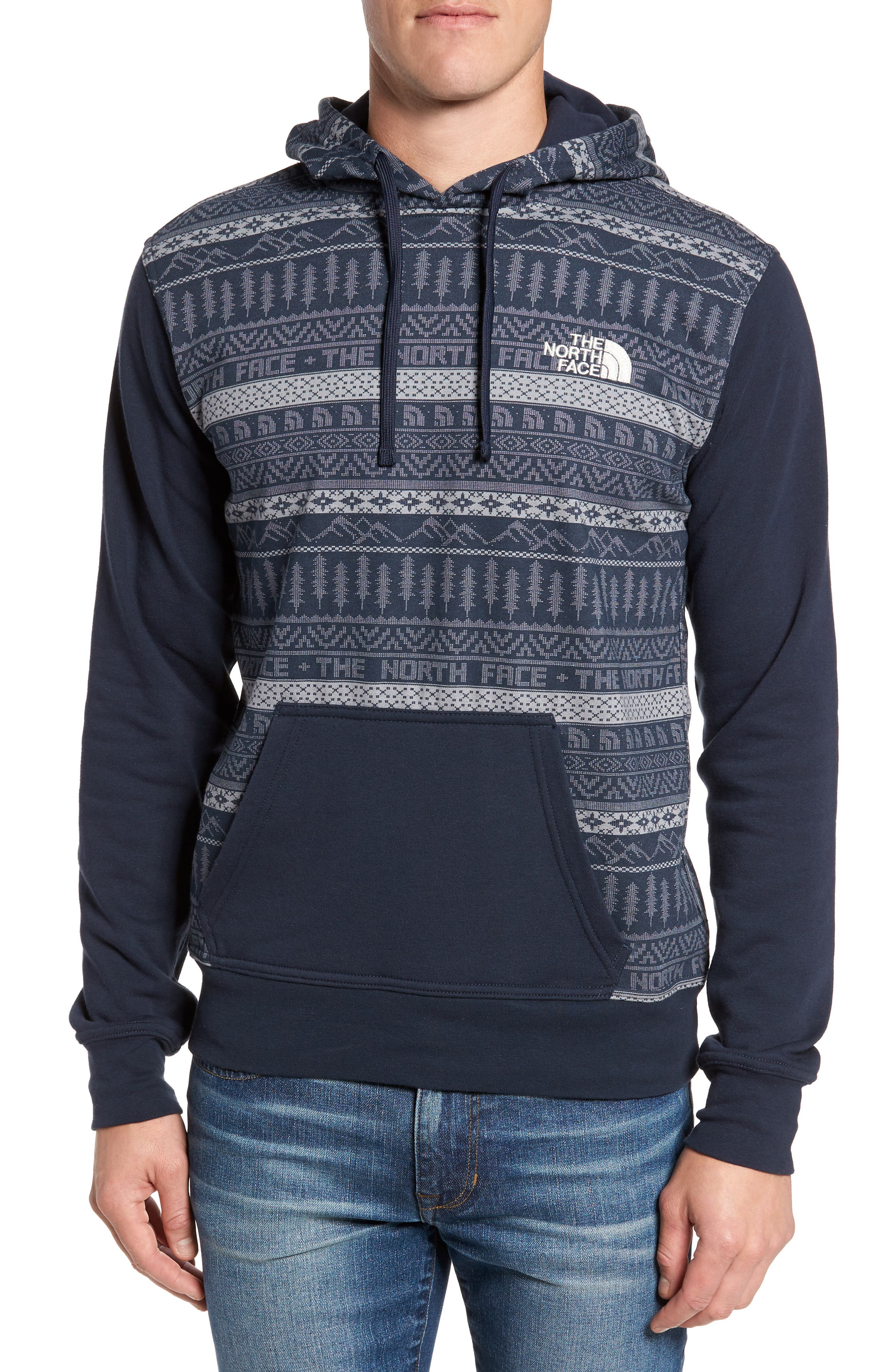 The North Face Holiday Half Dome Print Hoodie