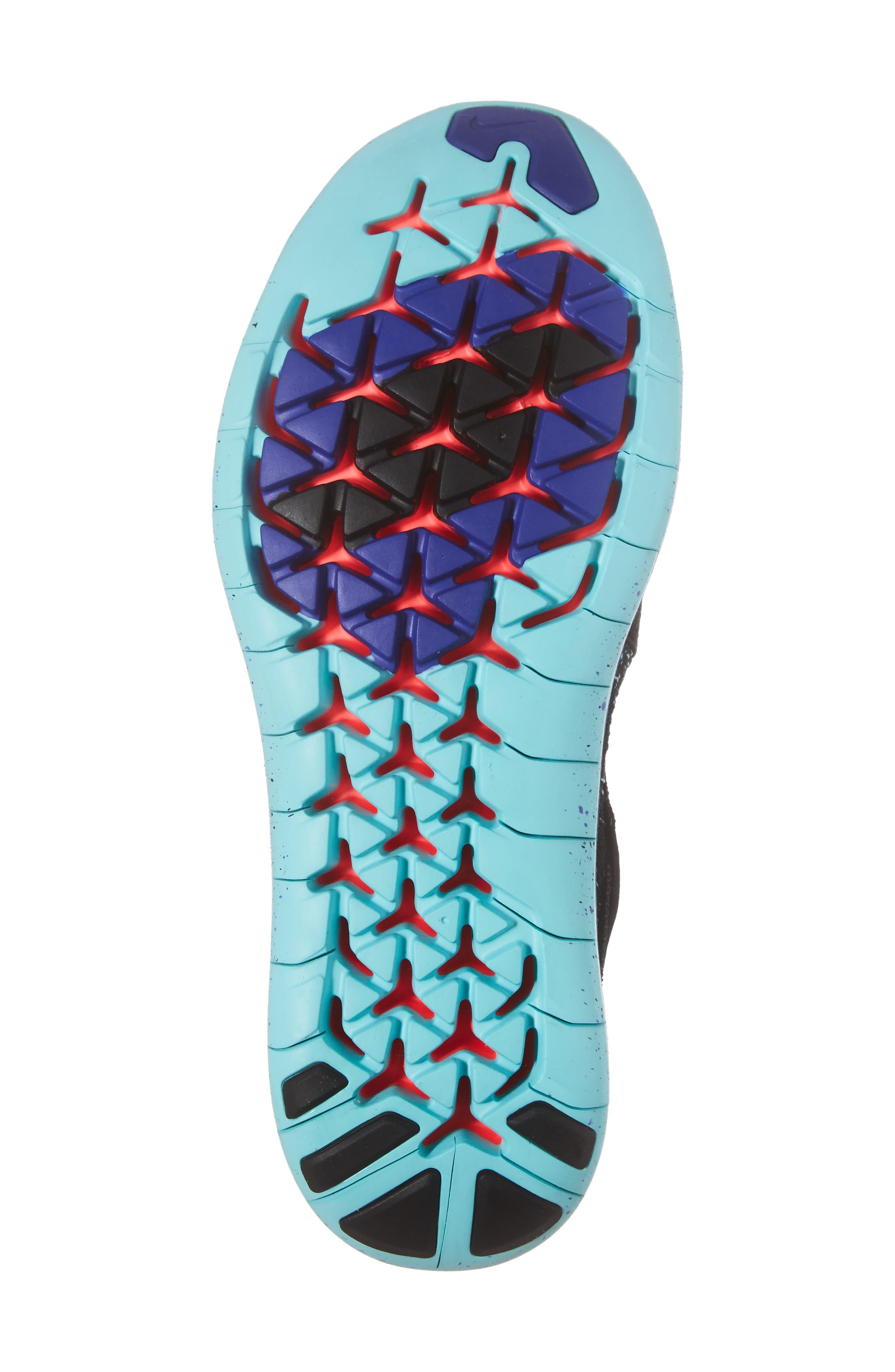 Alternate Image 6  - Nike Free Run Flyknit Motion 2017 (Women)