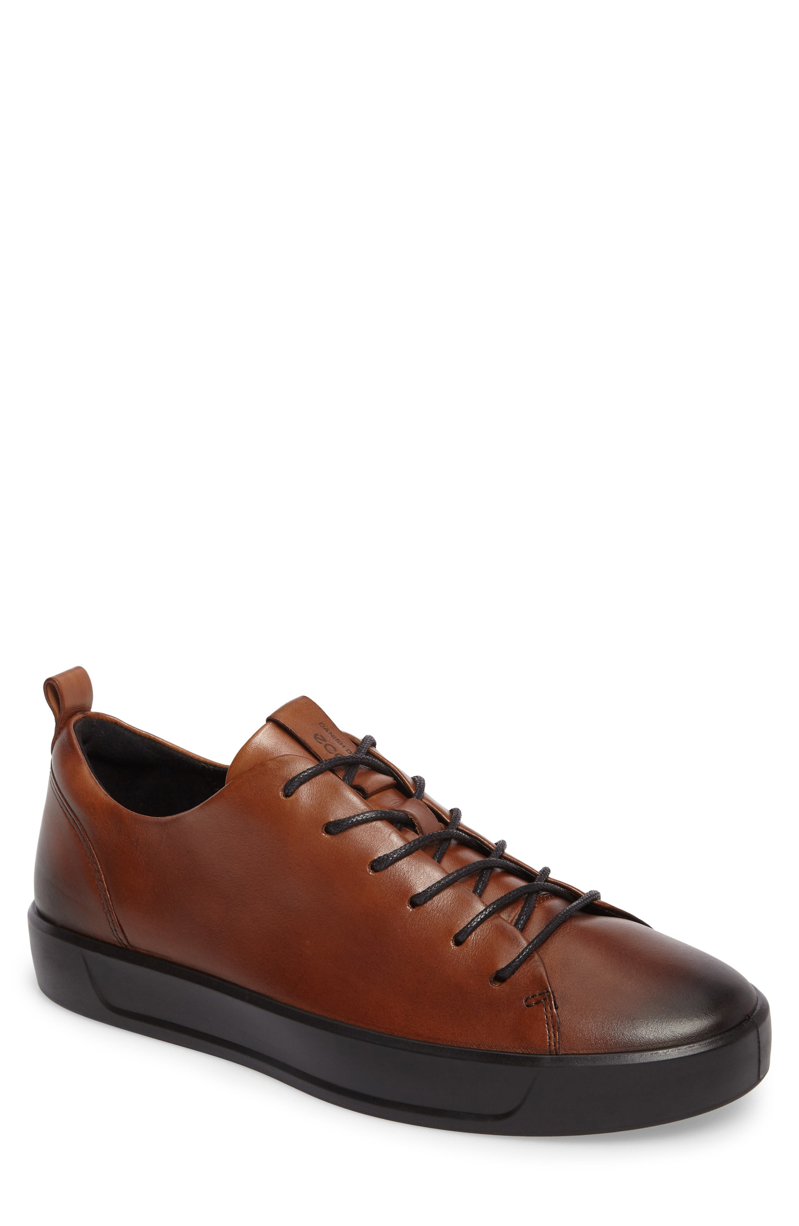Alternate Image 1 Selected - ECCO Soft 8 Street Sneaker (Men)