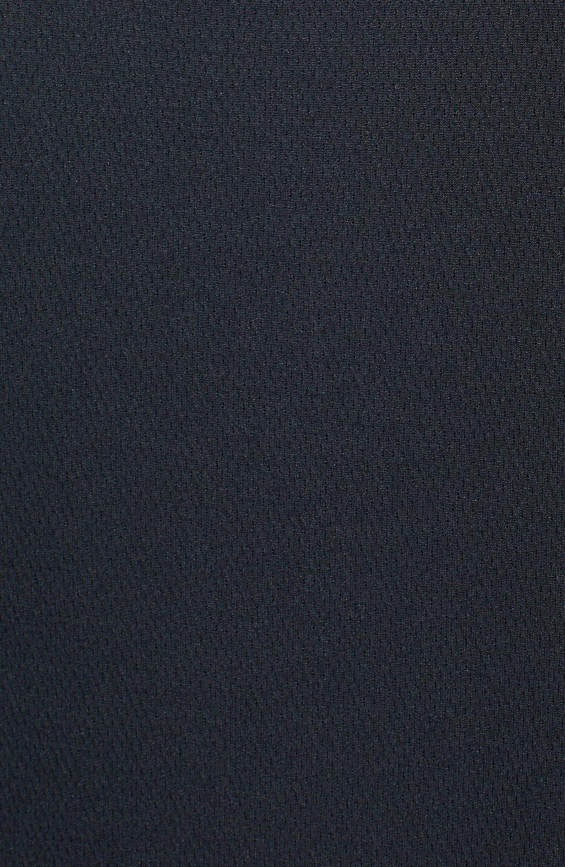 Tampa Bay Buccaneers - Edge DryTec Moisture Wicking Half Zip Pullover,                             Alternate thumbnail 3, color,                             Black