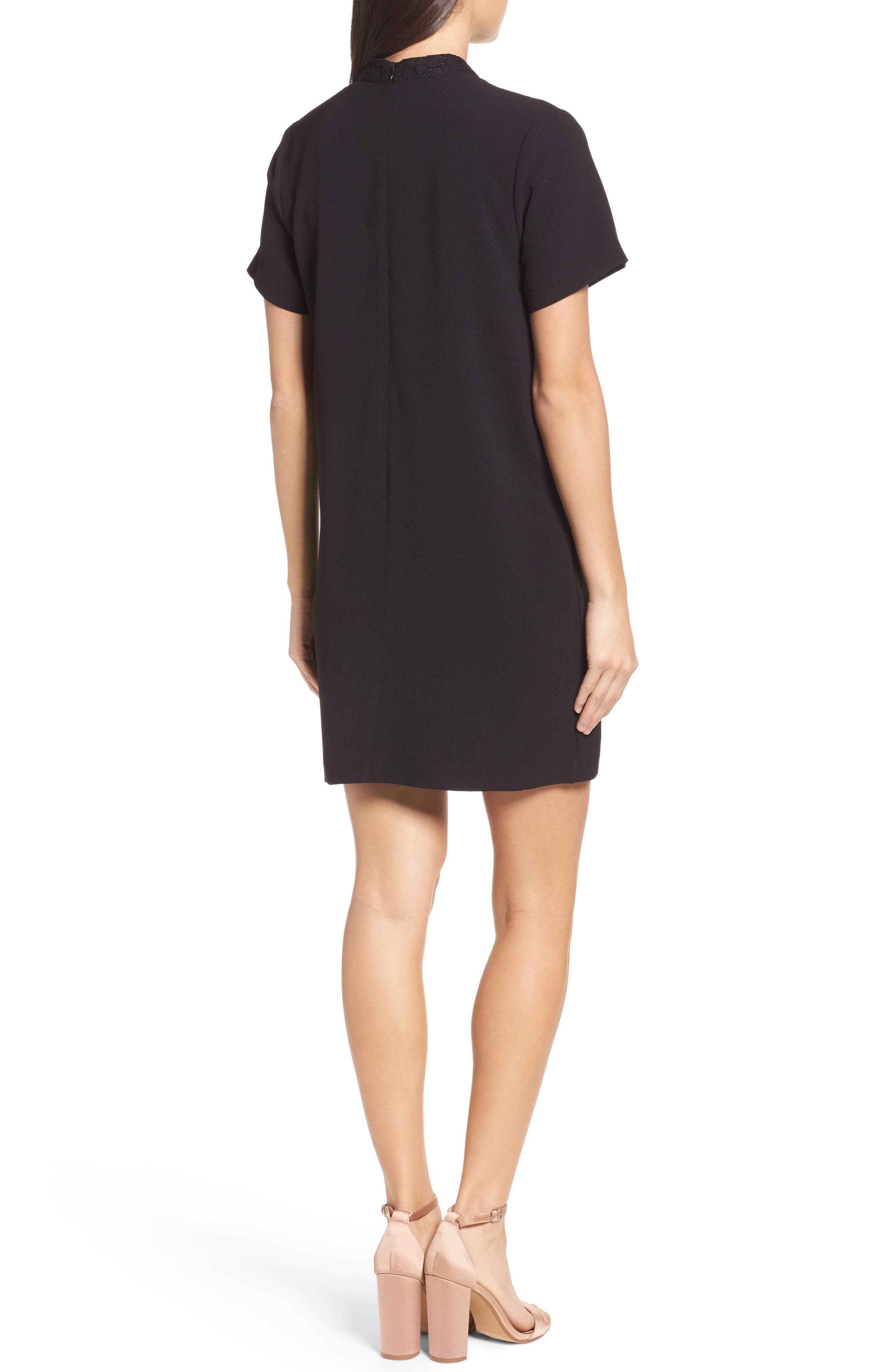 Alternate Image 2  - Felicity & Coco Kimberly Choker Shift Dress (Nordstrom Exclusive)