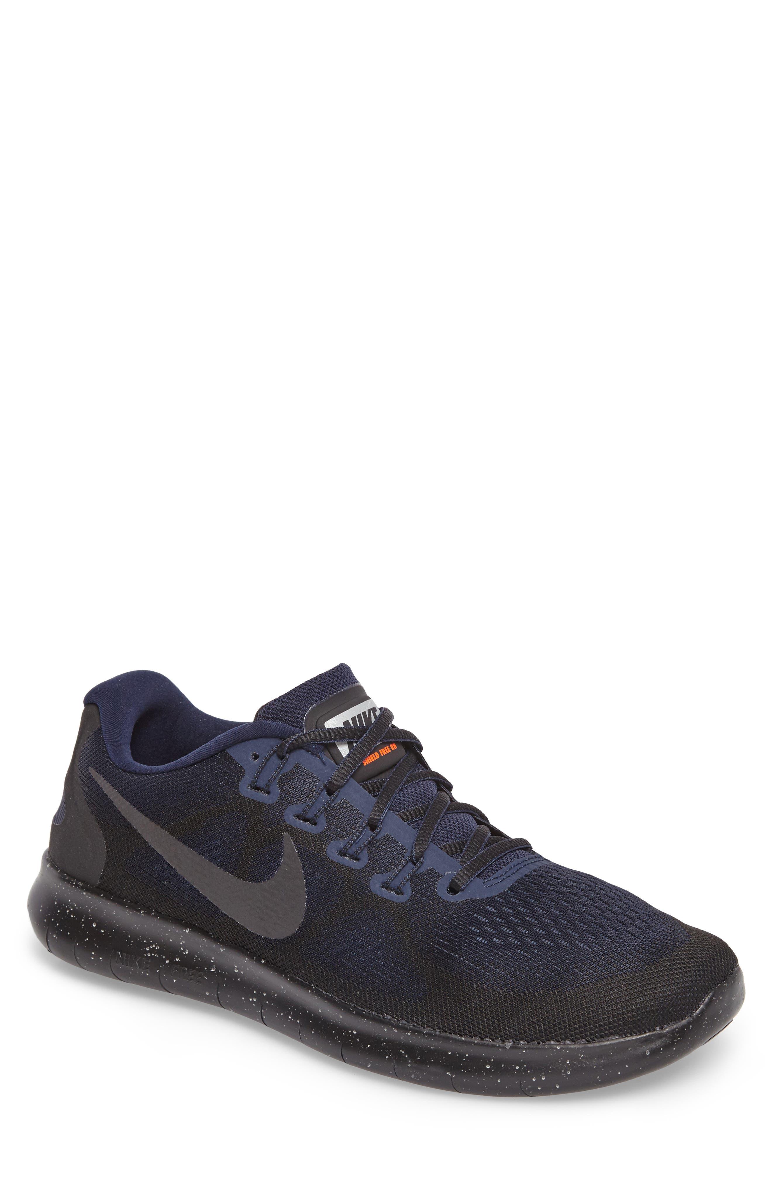 Main Image - Nike Free RN 2017 Shield Water-Repellent Training Shoe (Men)