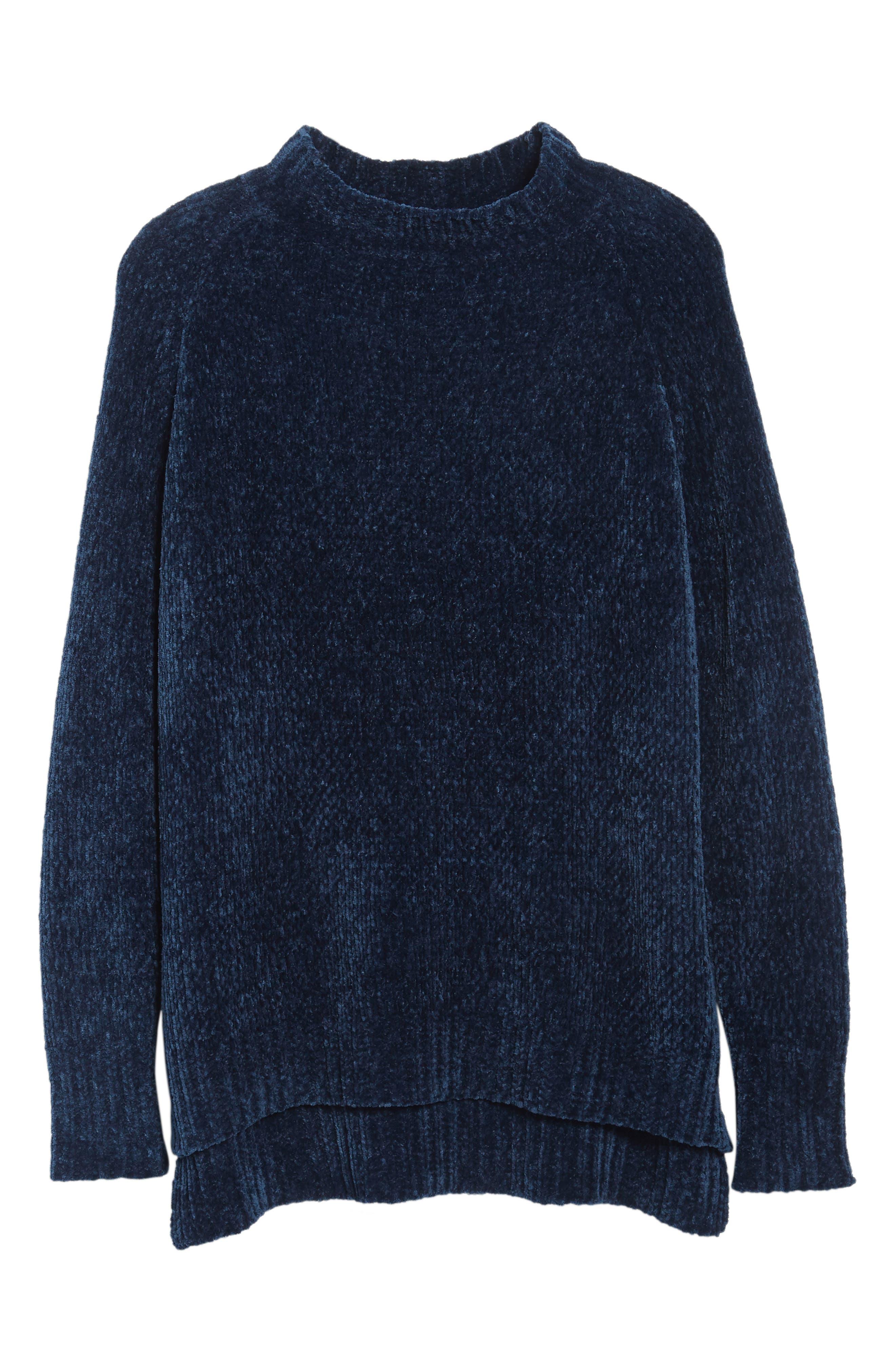 Alternate Image 7  - Lost + Wander Maya Chenille Mock Neck Sweater