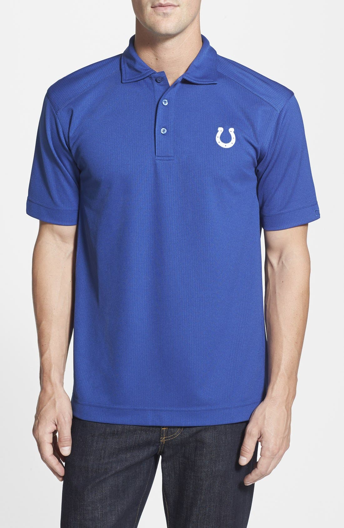 Alternate Image 1 Selected - Cutter & Buck Indianapolis Colts - Genre DryTec Moisture Wicking Polo