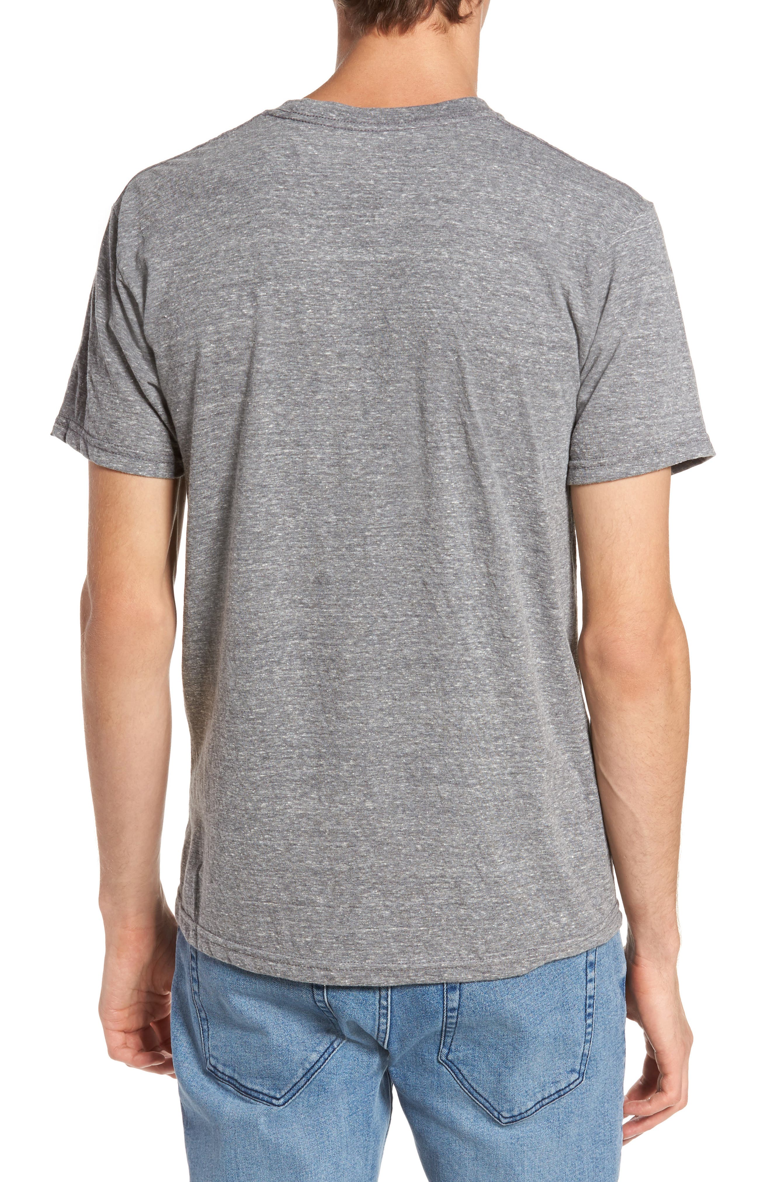 Burning Marshmallows T-Shirt,                             Alternate thumbnail 2, color,                             Triblend Grey
