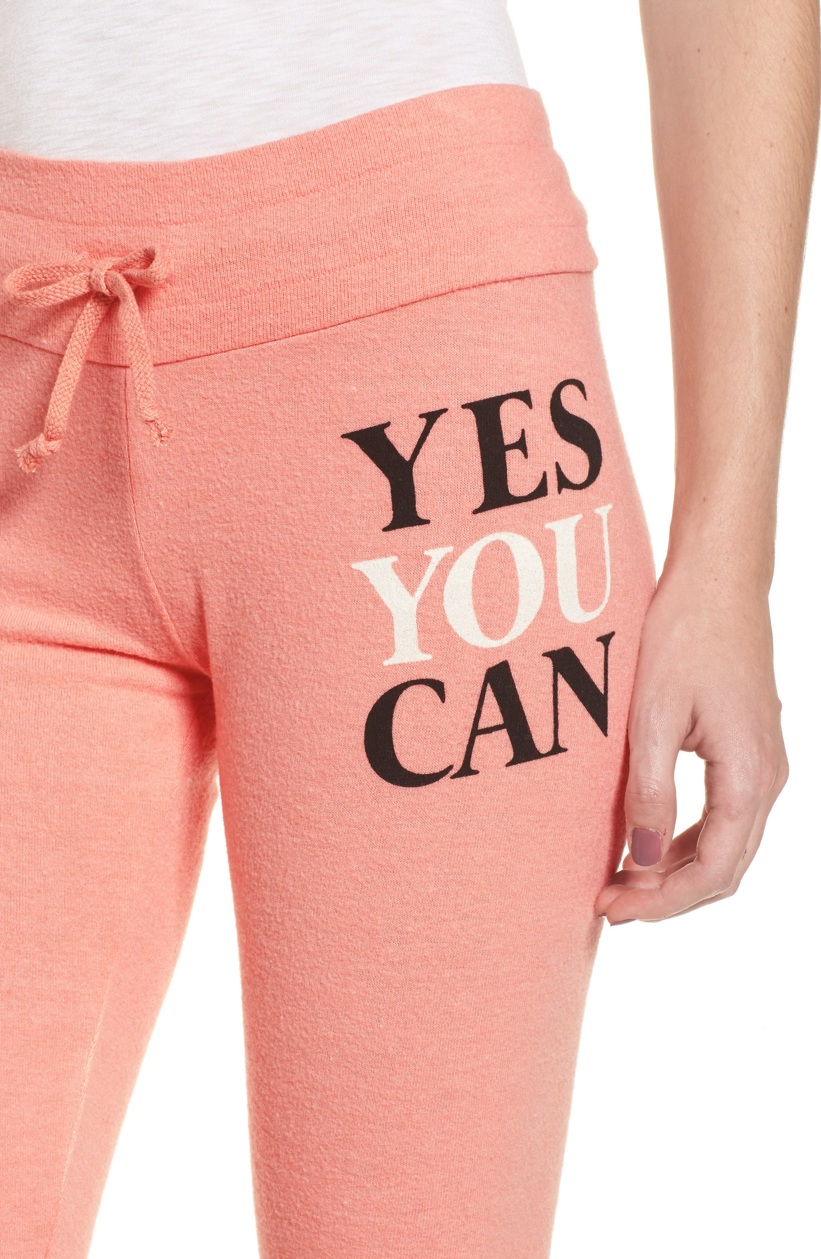 Alternate Image 4  - Dream Scene Yes You Can Sweatpants