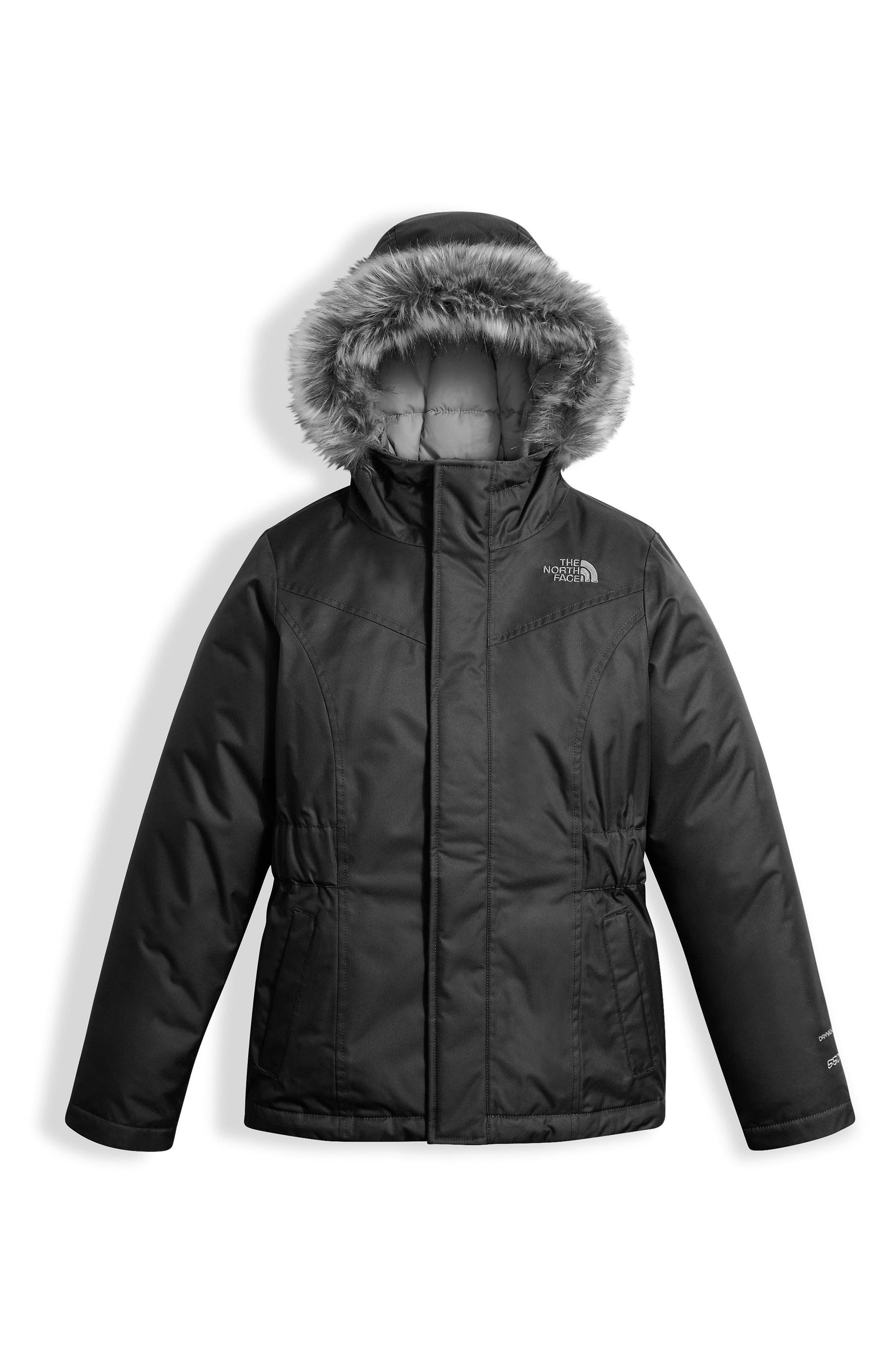 Greenland Waterproof 550-Fill Down Jacket,                             Main thumbnail 1, color,                             Tnf Black