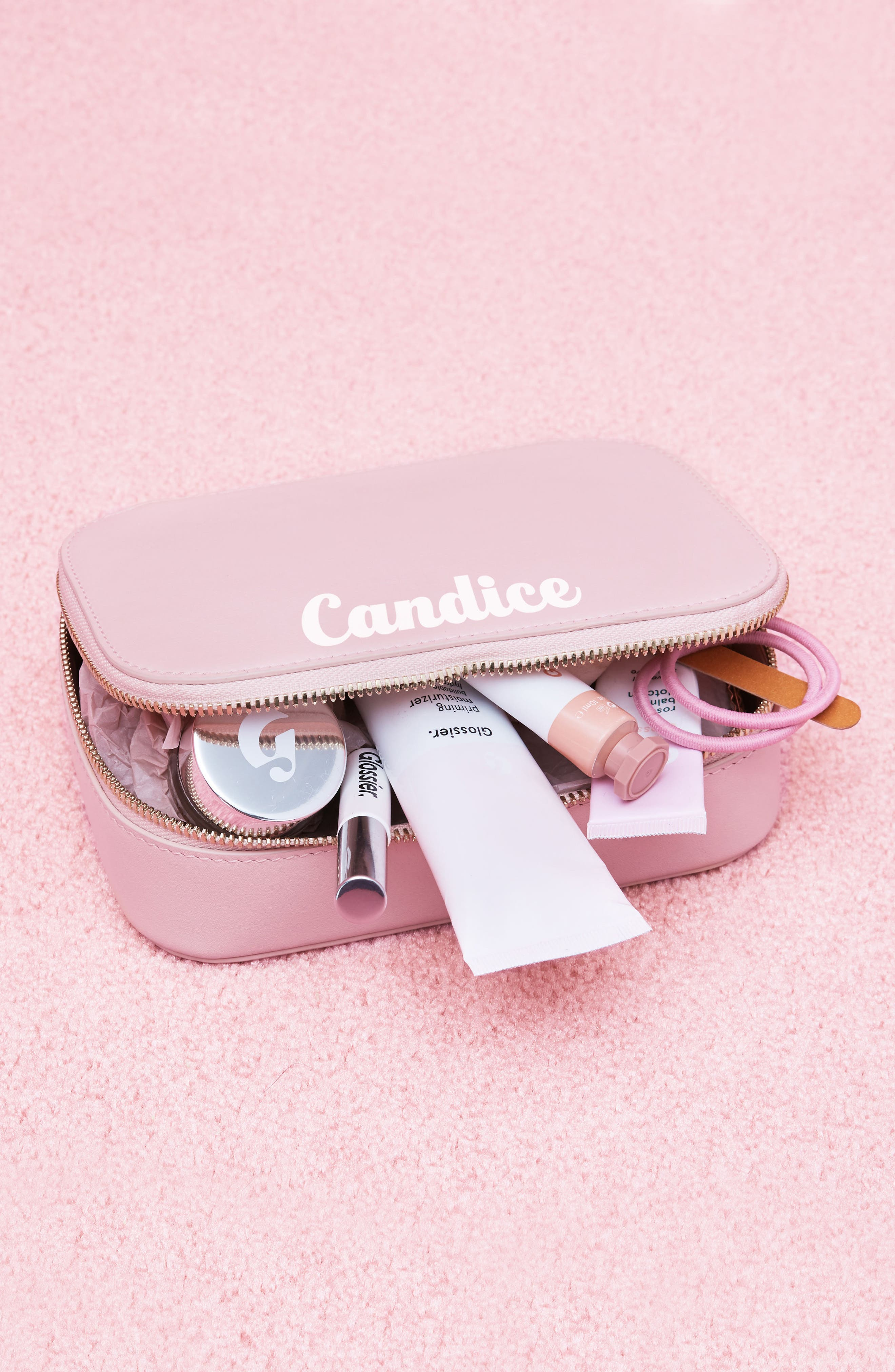 Alternate Image 5  - Pop & Suki Bigger Personalized Makeup Case (Nordstrom Exclusive)
