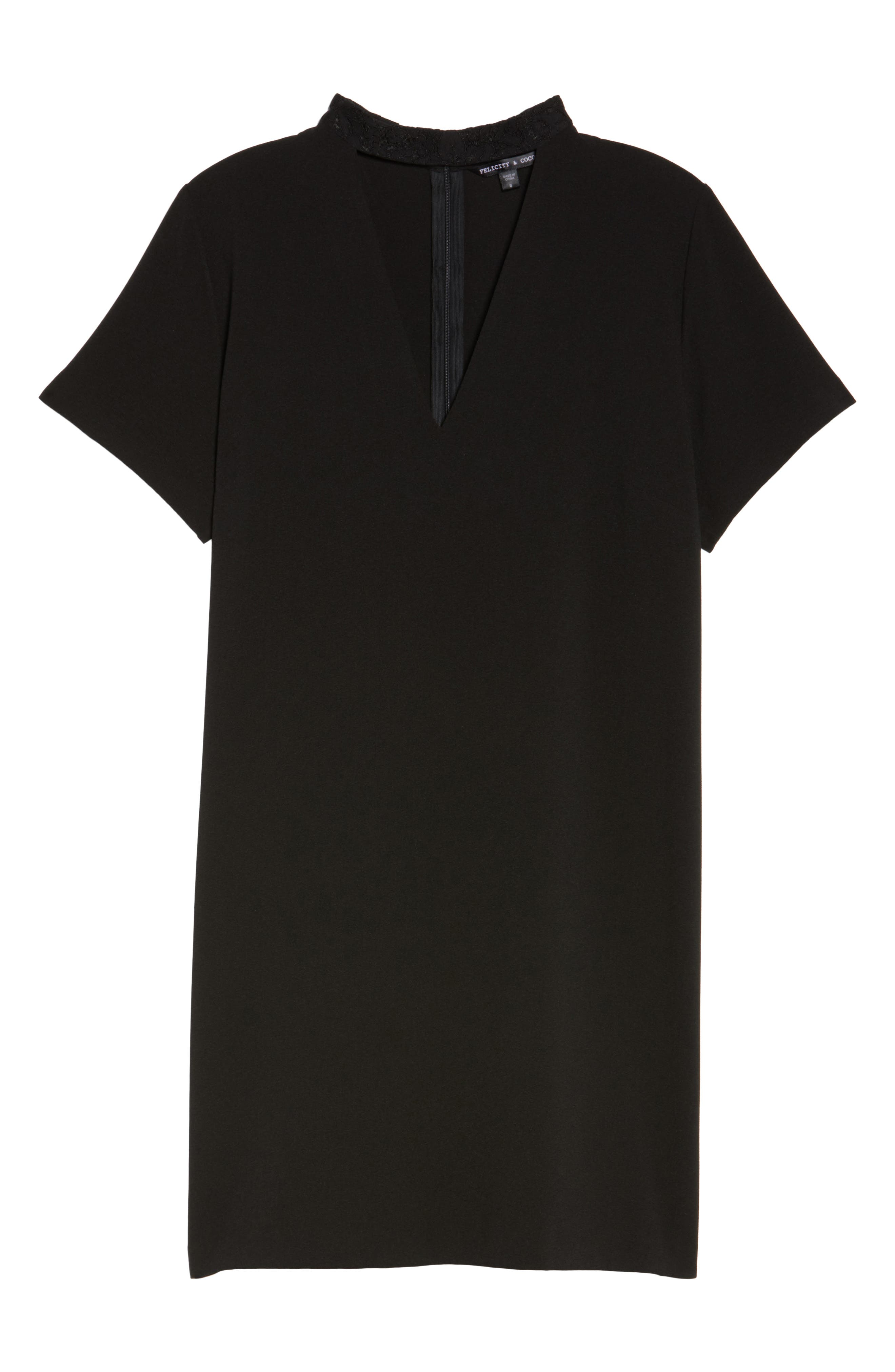 Alternate Image 6  - Felicity & Coco Kimberly Choker Shift Dress (Nordstrom Exclusive)