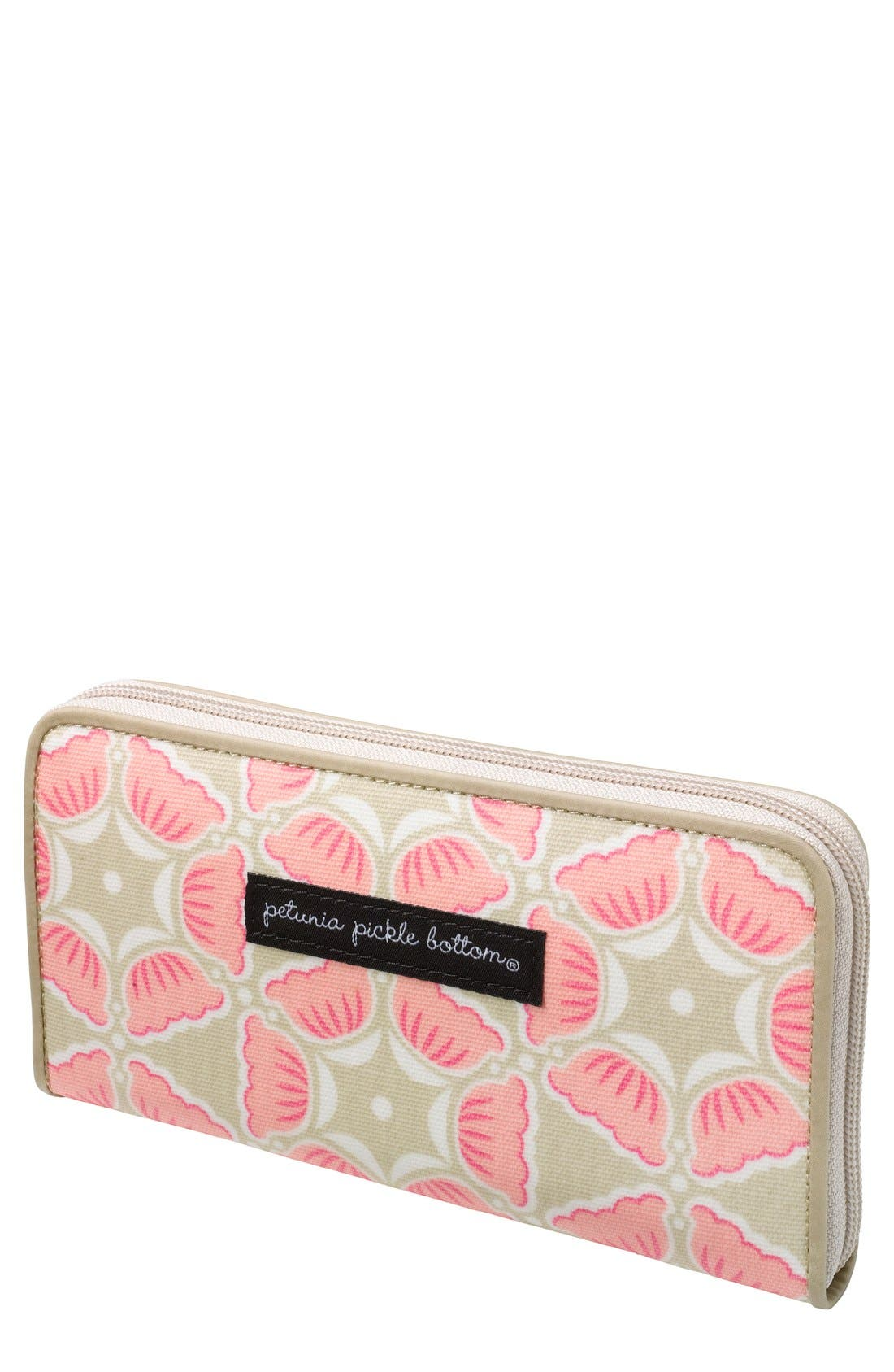 Alternate Image 1 Selected - Petunia Pickle Bottom 'Wanderlust' Wallet