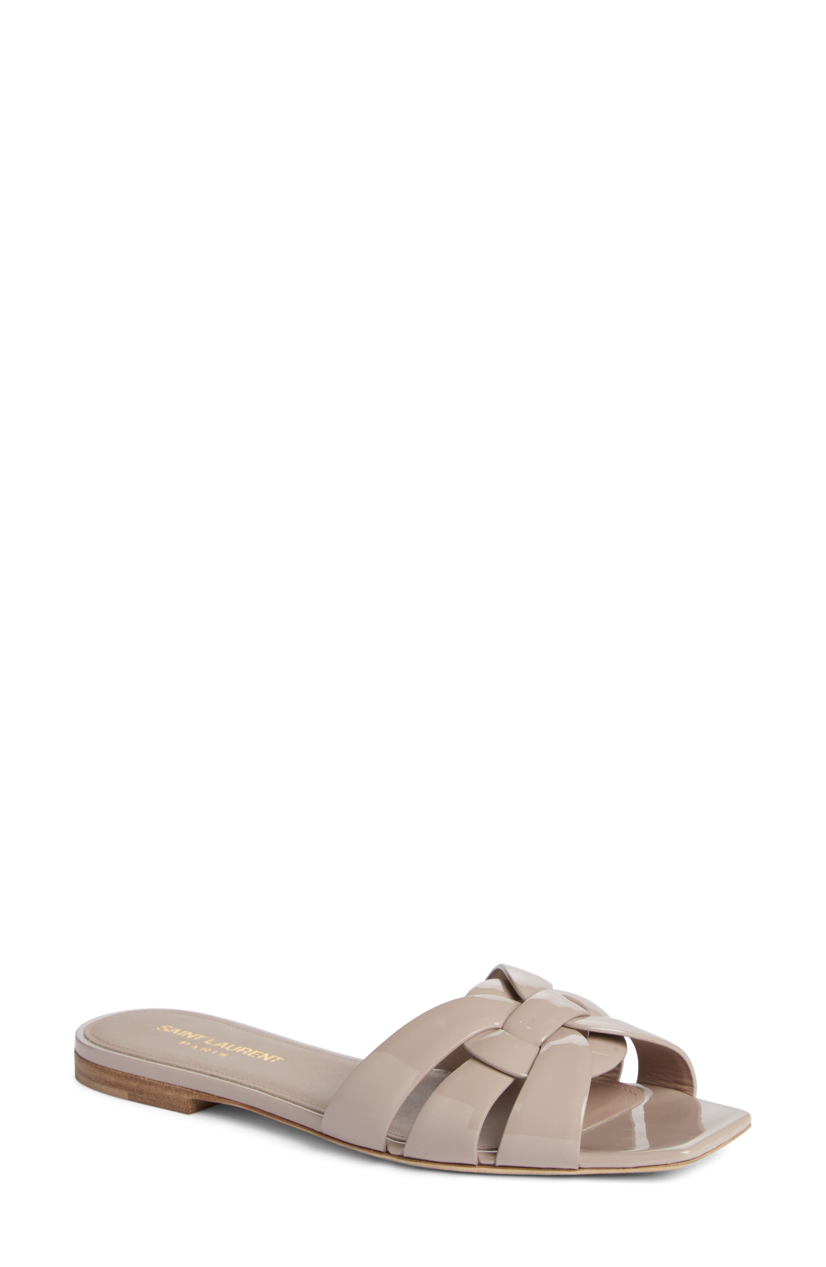 Alternate Image 1 Selected - Saint Laurent Tribute Slide Sandal (Women)