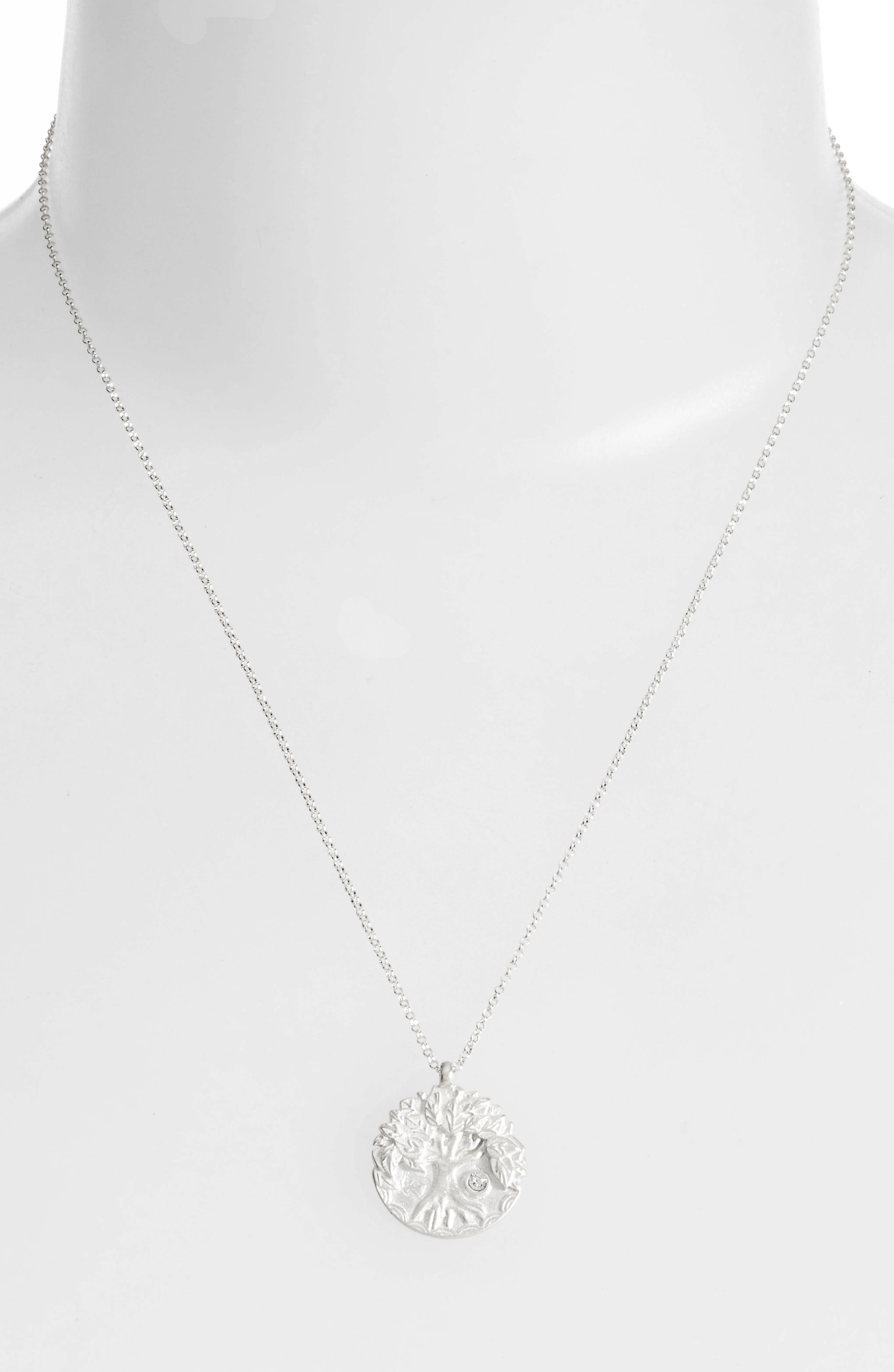 The Legacy Collection - Lift Up Your Eyes Upon... Pendant Necklace,                             Alternate thumbnail 2, color,                             Silver
