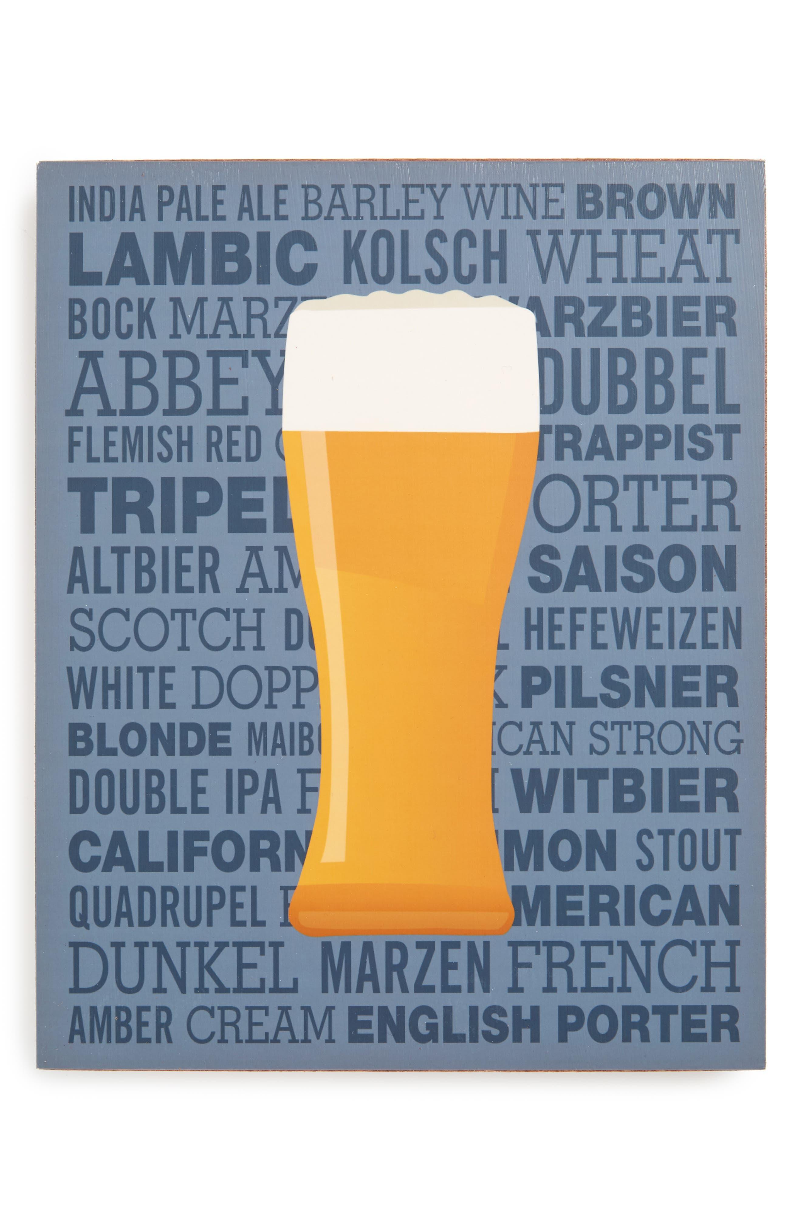 Lucius Designs Beer Wall Art