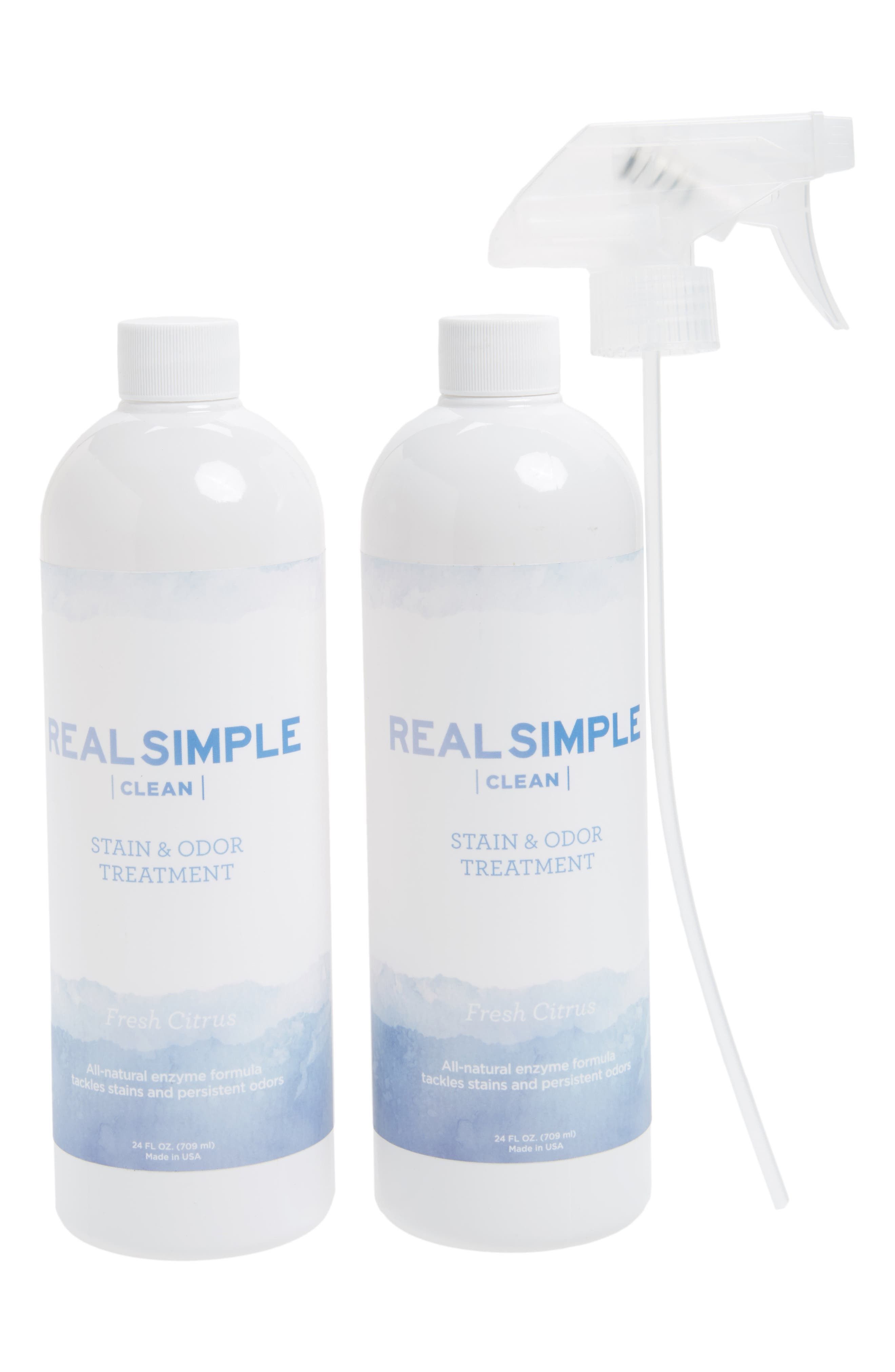 Alternate Image 1 Selected - Real Simple 2-Pack Stain & Odor Treatment