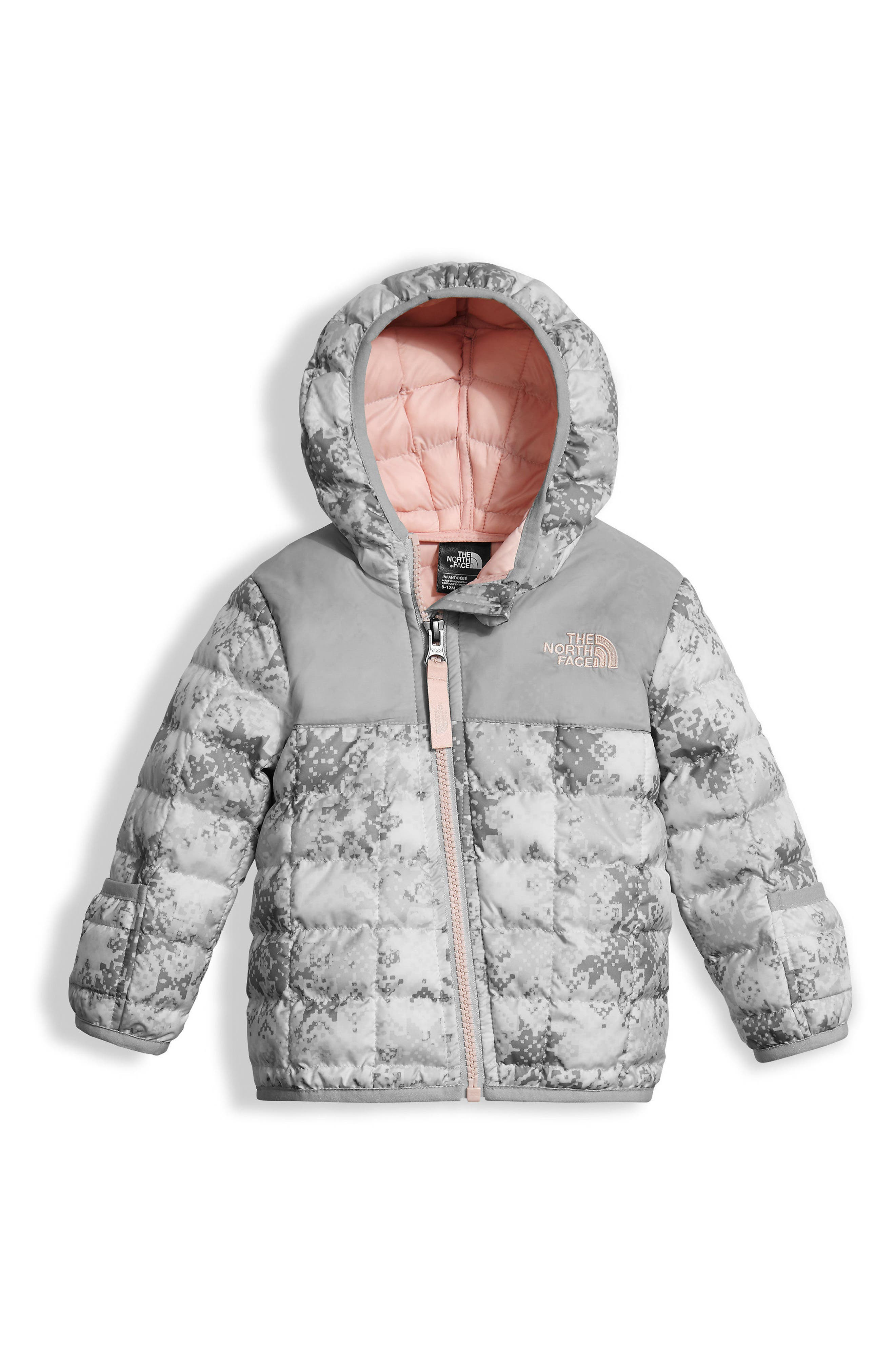 ThermoBall<sup>™</sup> PrimaLoft<sup>®</sup> Hoodie Jacket,                         Main,                         color, Snowflake/ Fair Isle Print