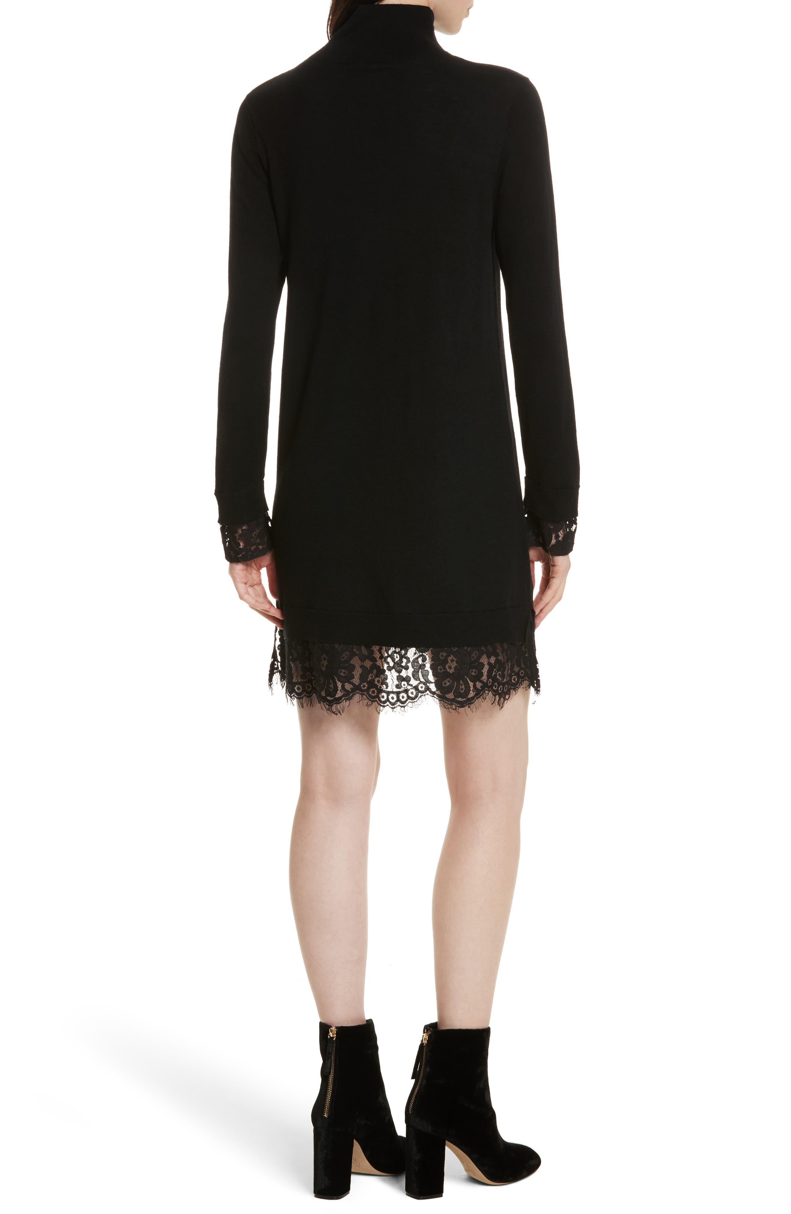 Alternate Image 2  - Joie Fredrika B Lace Trim Dress