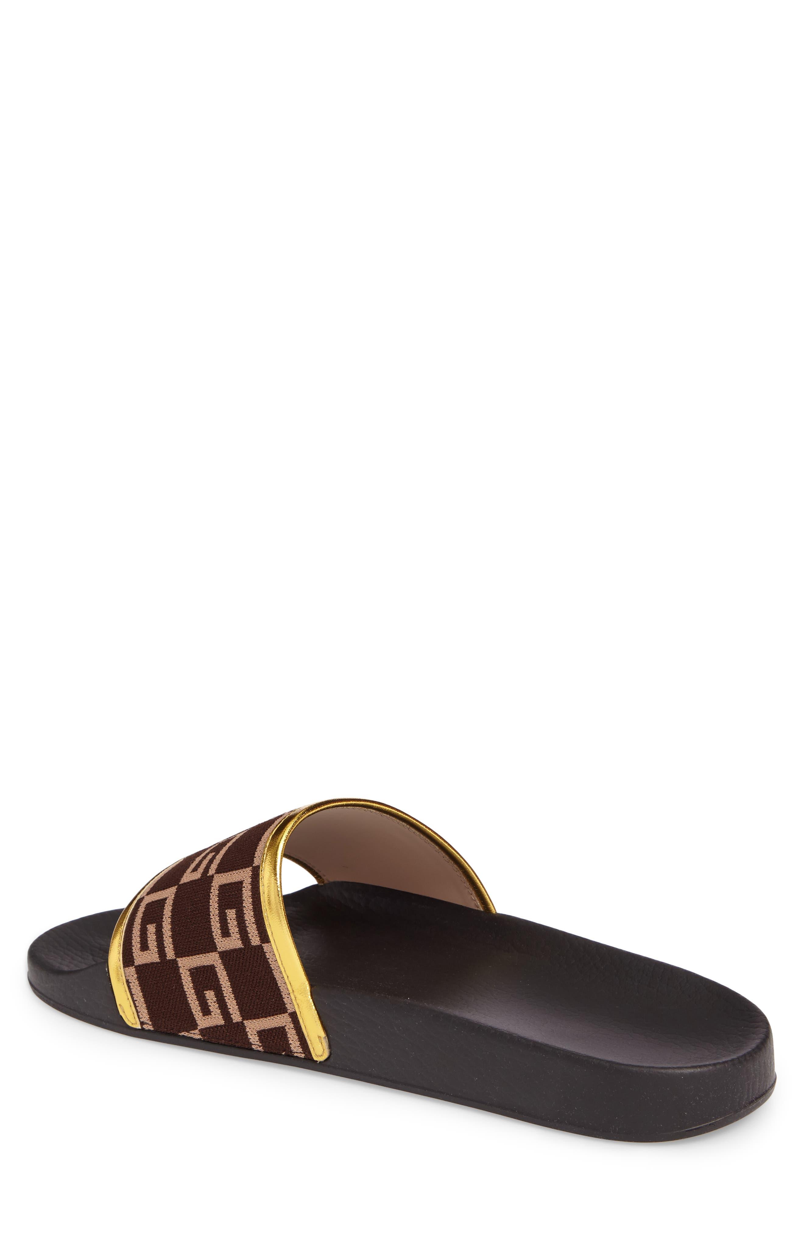 Pursuit Slide Sandal,                             Alternate thumbnail 2, color,                             Brown