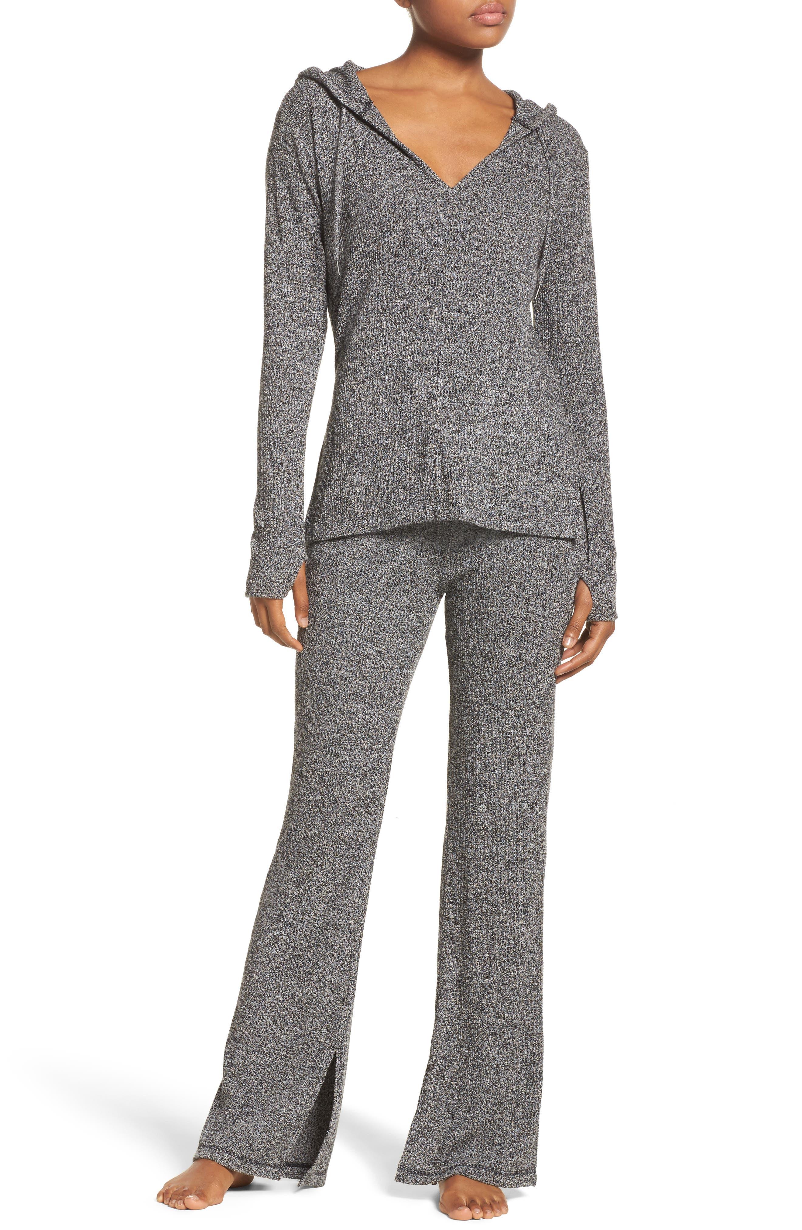 Alternate Image 7  - Zella Mantra Hooded Pullover Top
