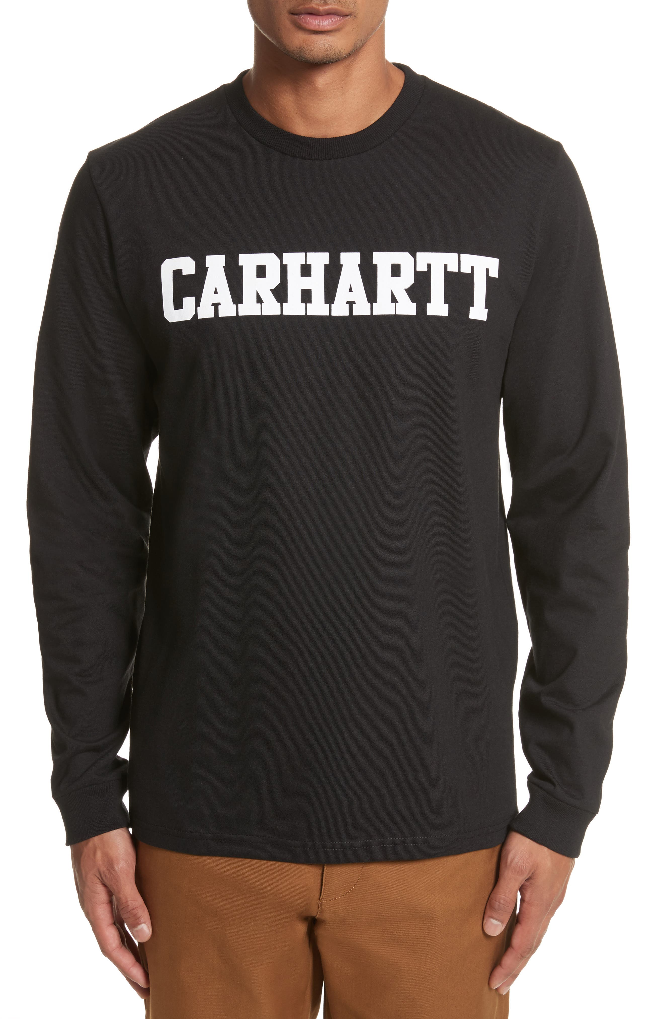 Alternate Image 1 Selected - Carhartt Work in Progress College Logo Graphic T-Shirt