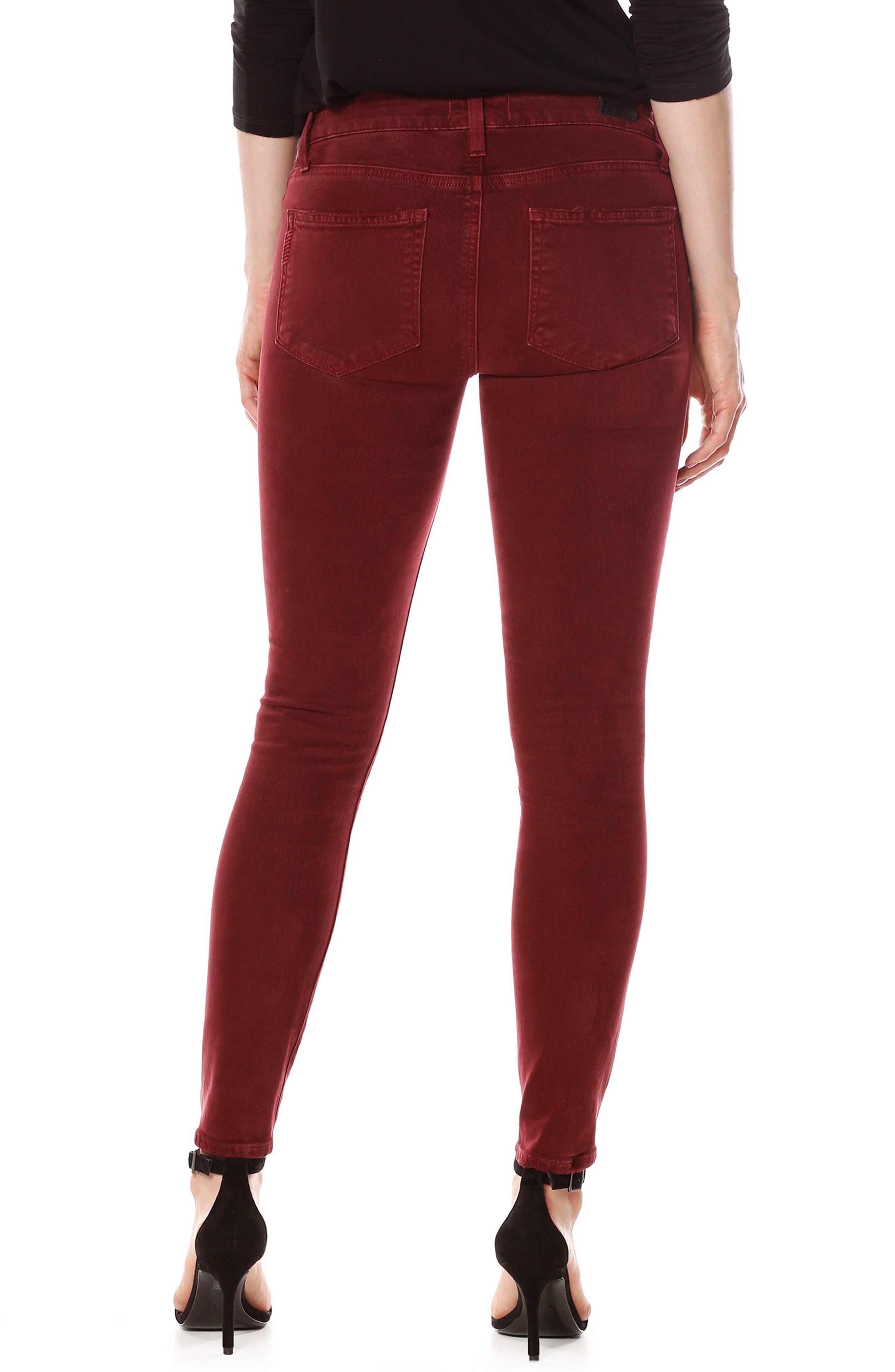 Alternate Image 3  - PAIGE Verdugo Ankle Skinny Jeans