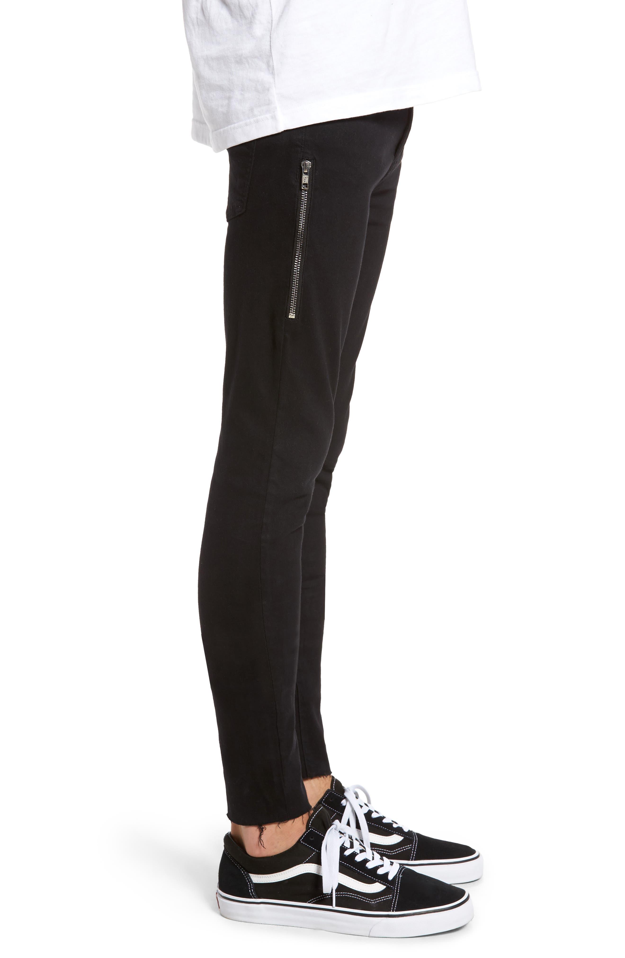 Alternate Image 3  - Dr. Denim Supply Co. Leroy Skinny Fit Jeans (Black Punk)