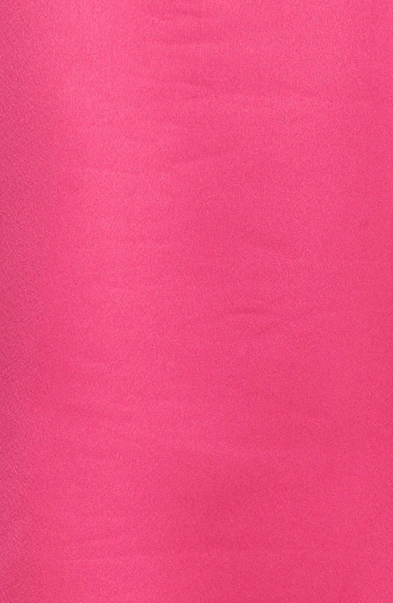 Satin Pajamas,                             Alternate thumbnail 5, color,                             Pink