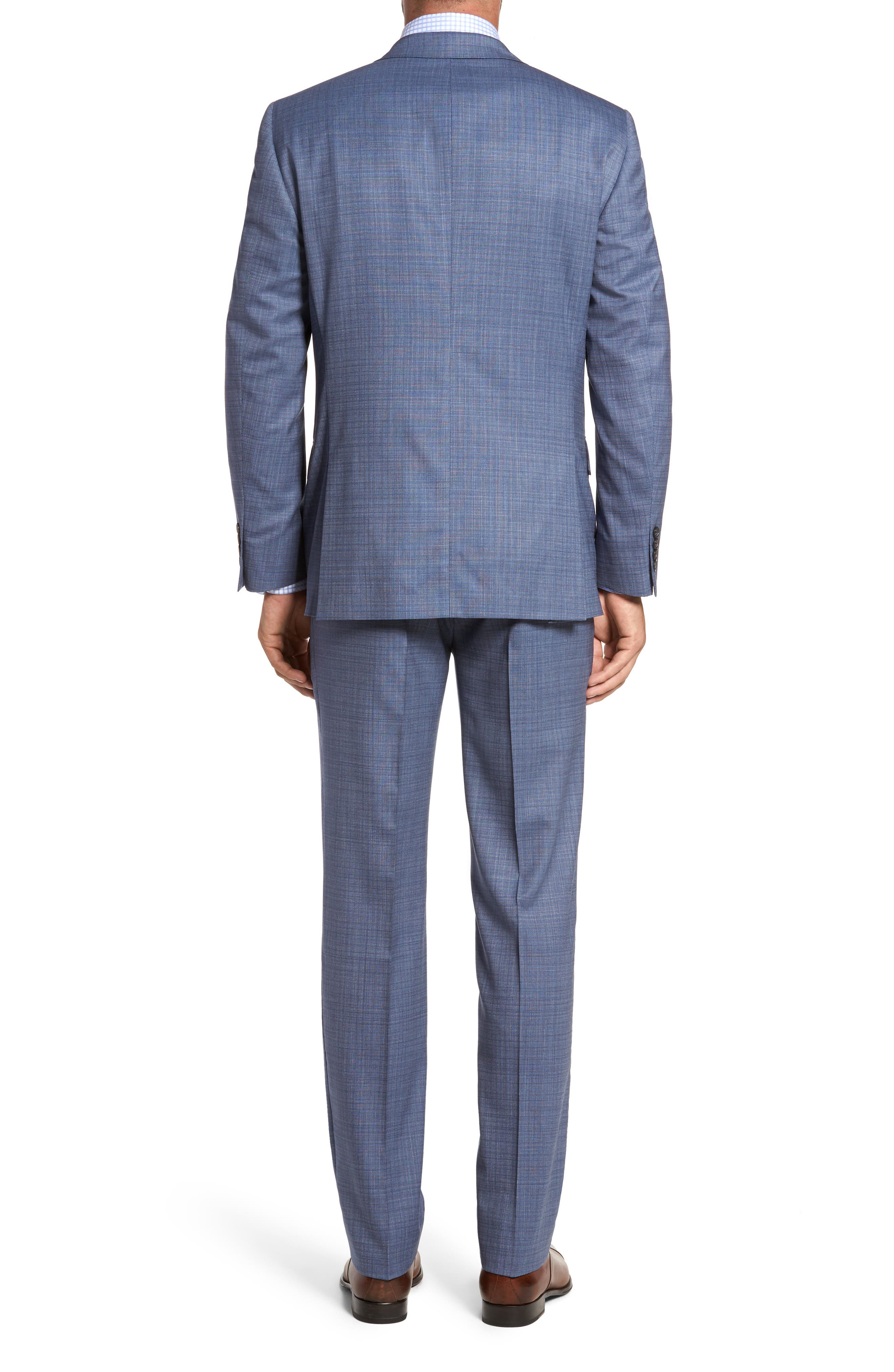 Alternate Image 2  - Hart Schaffner Marx Classic Fit Check Wool Suit