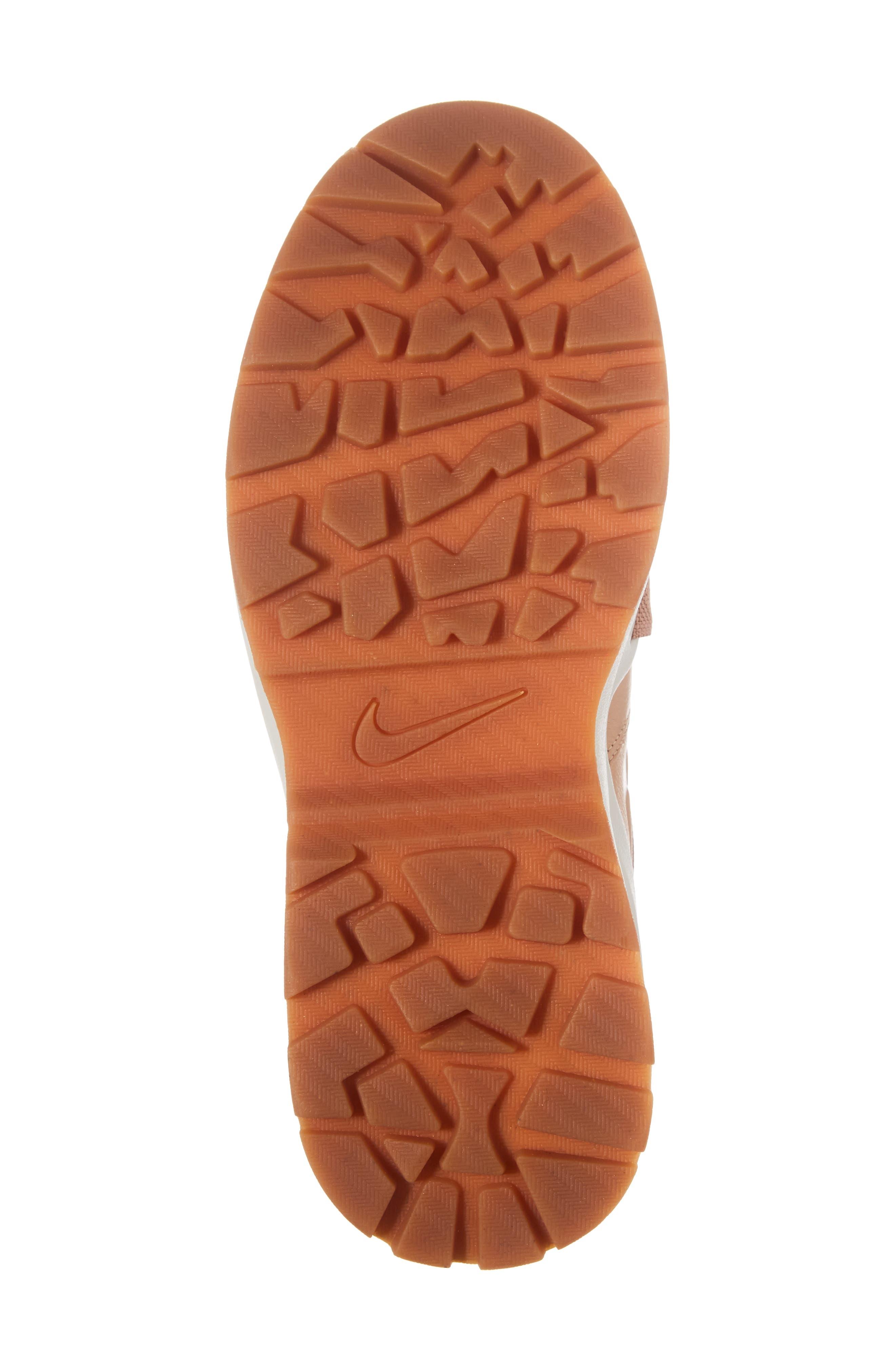 Air Max Goadome Sneaker Boot,                             Alternate thumbnail 6, color,                             Tan/ Tan/ Light Bone/ Clay