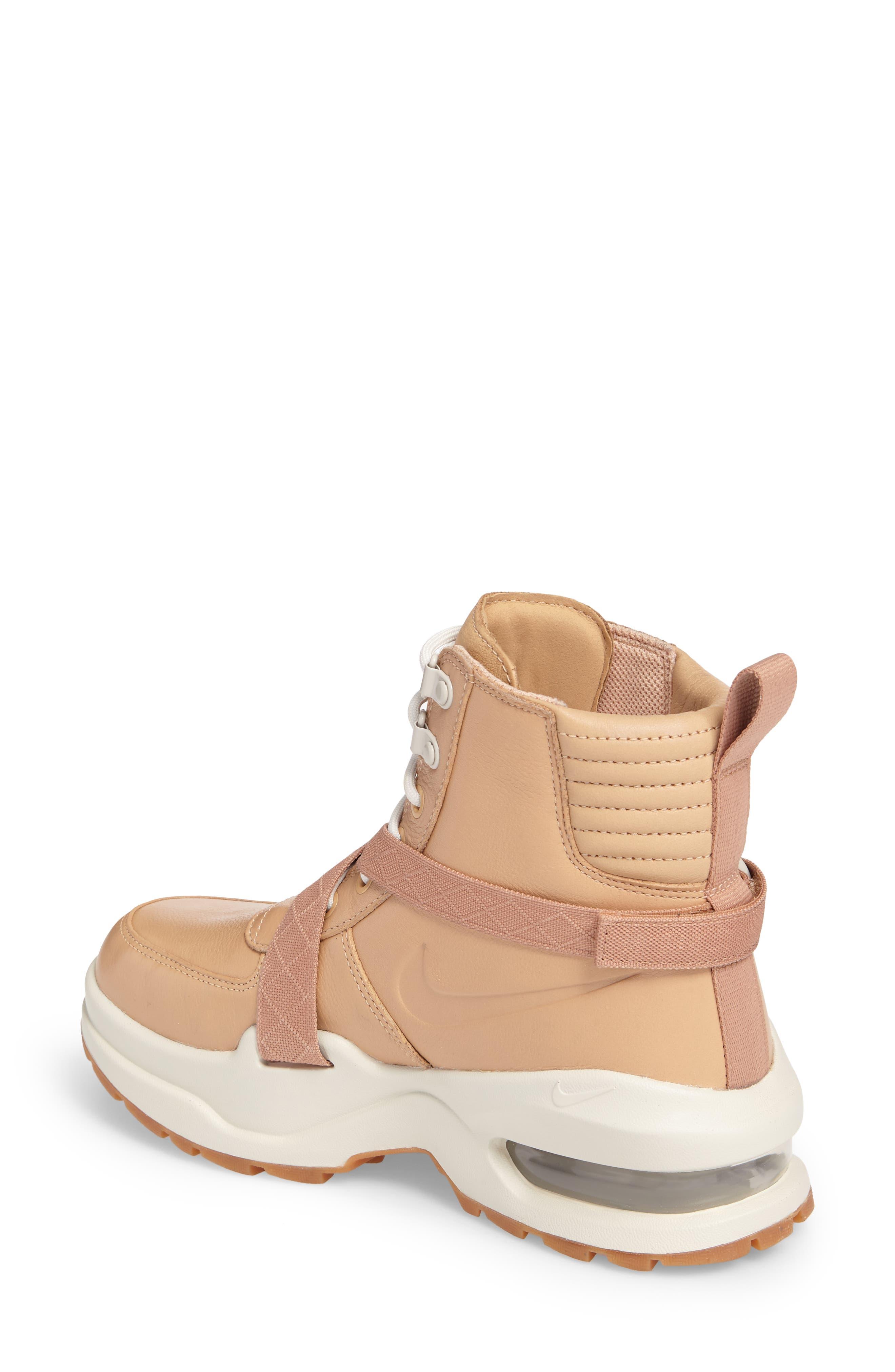 Air Max Goadome Sneaker Boot,                             Alternate thumbnail 2, color,                             Tan/ Tan/ Light Bone/ Clay