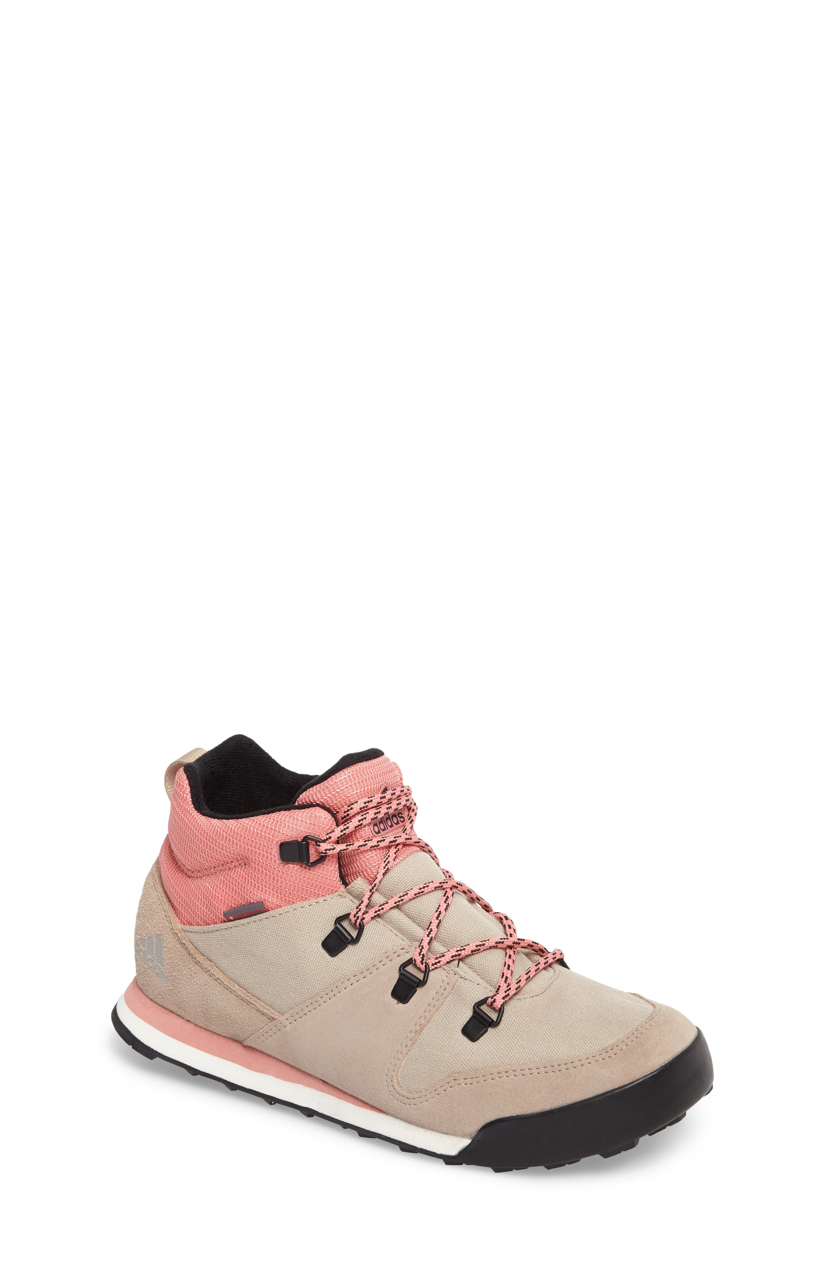 Snowpitch Insulated Sneaker Boot,                             Main thumbnail 1, color,                             Icey Pink/ Khaki/ Energy Pink