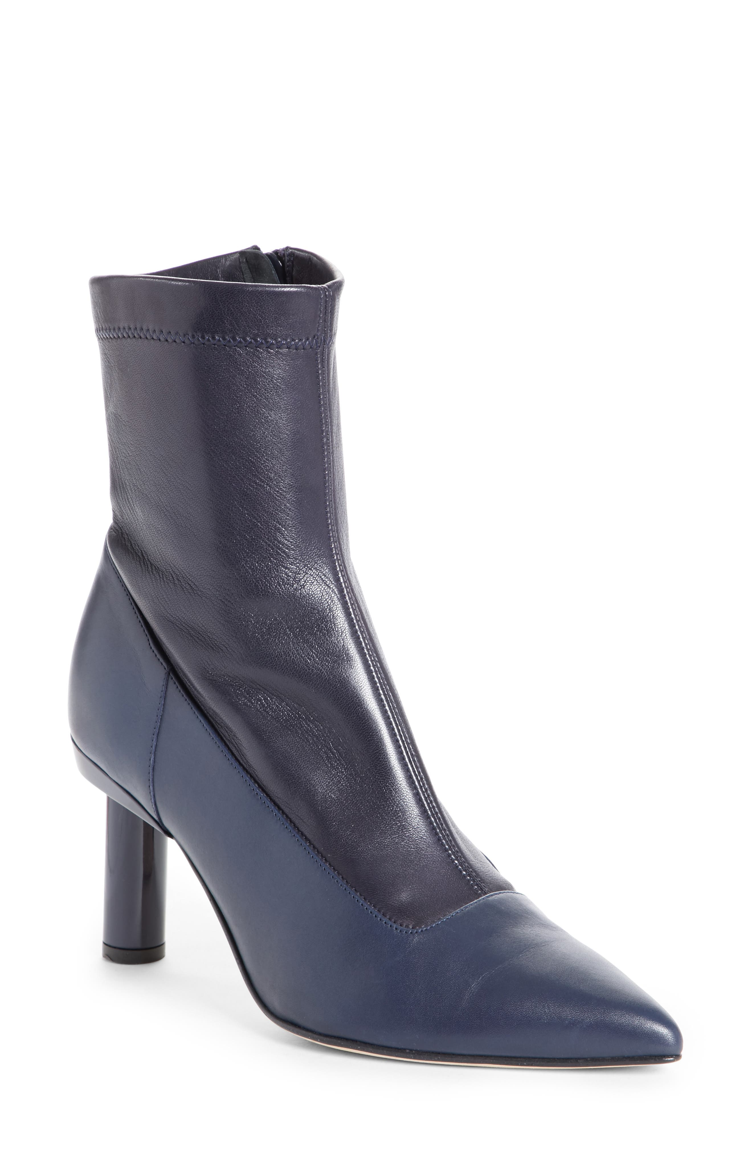 Ethan Bootie,                             Main thumbnail 1, color,                             Navy
