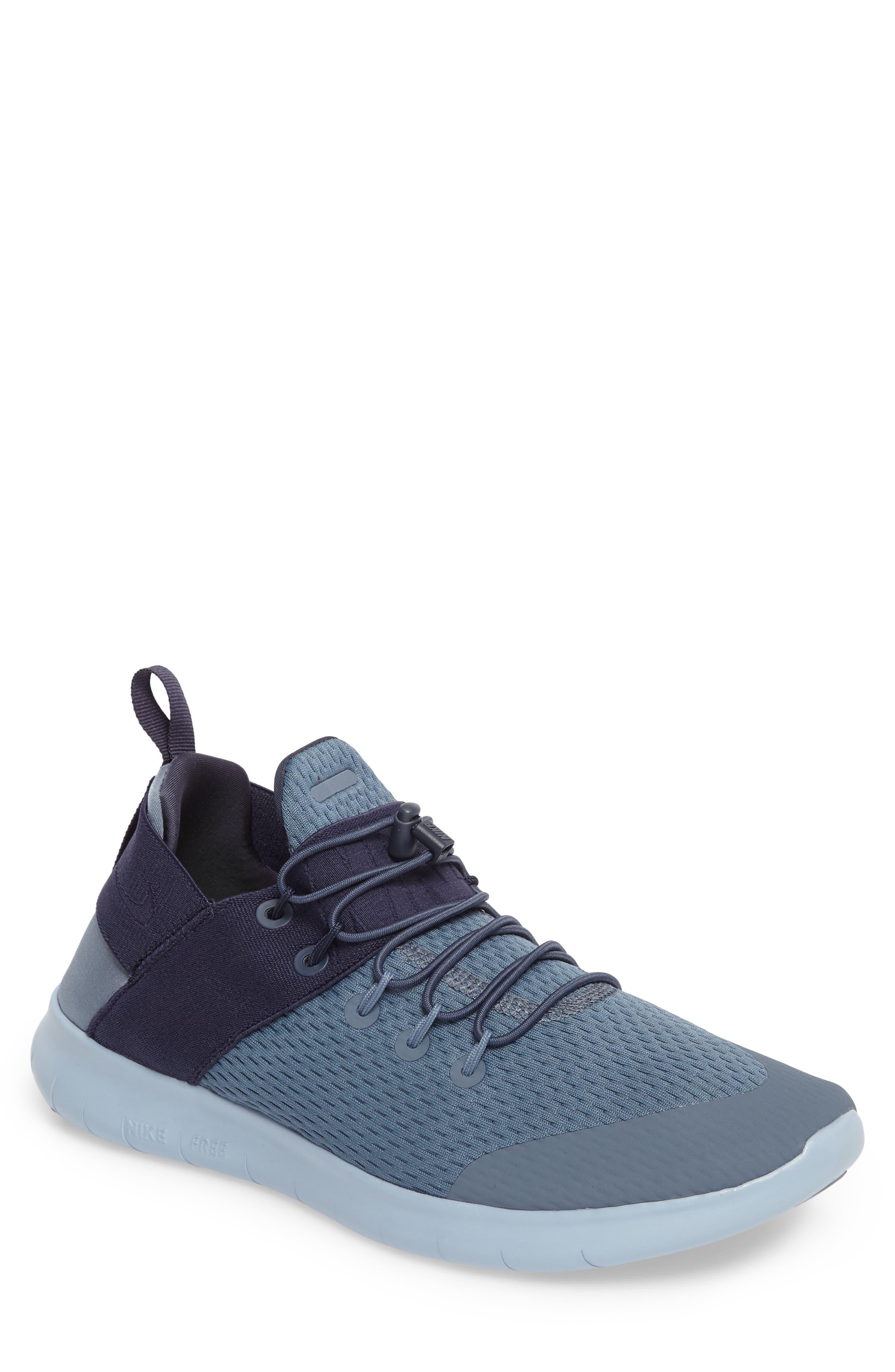 nike running shoes for men blue. main image - nike free rn cmtr 2 running shoe (men) shoes for men blue