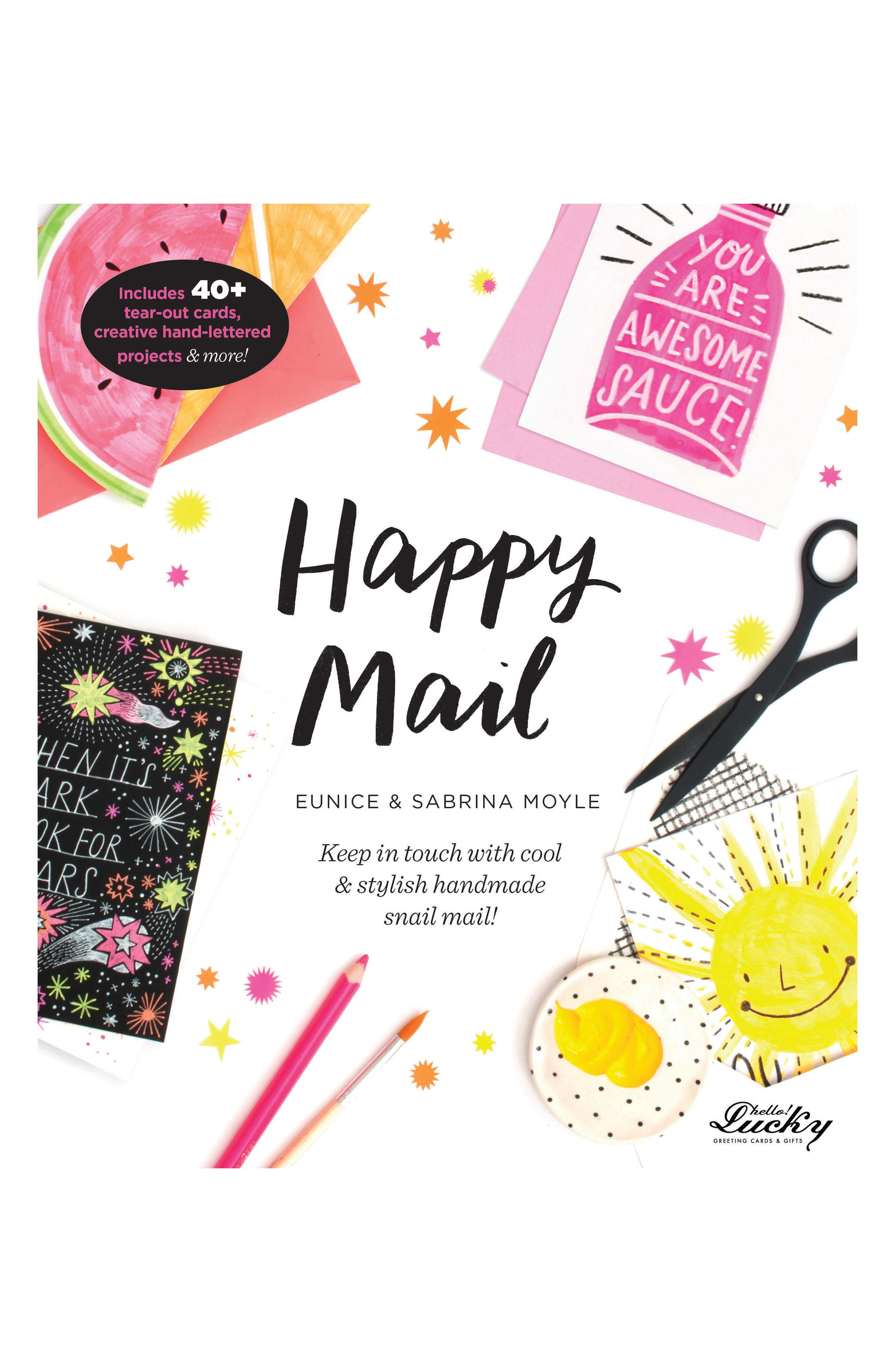 'Happy Mail' Activity Book