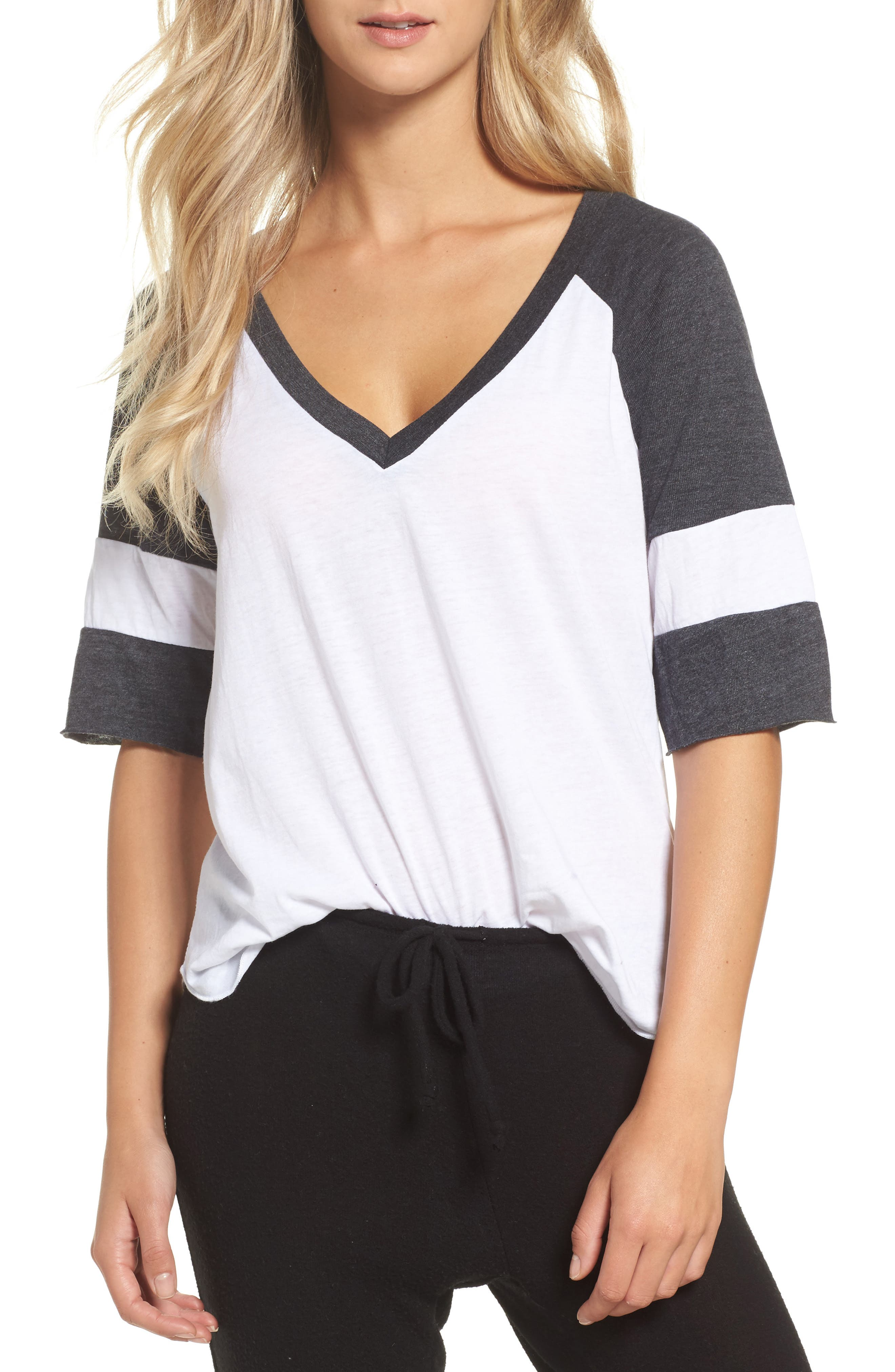 Main Image - Chaser Colorblock Jersey Tee