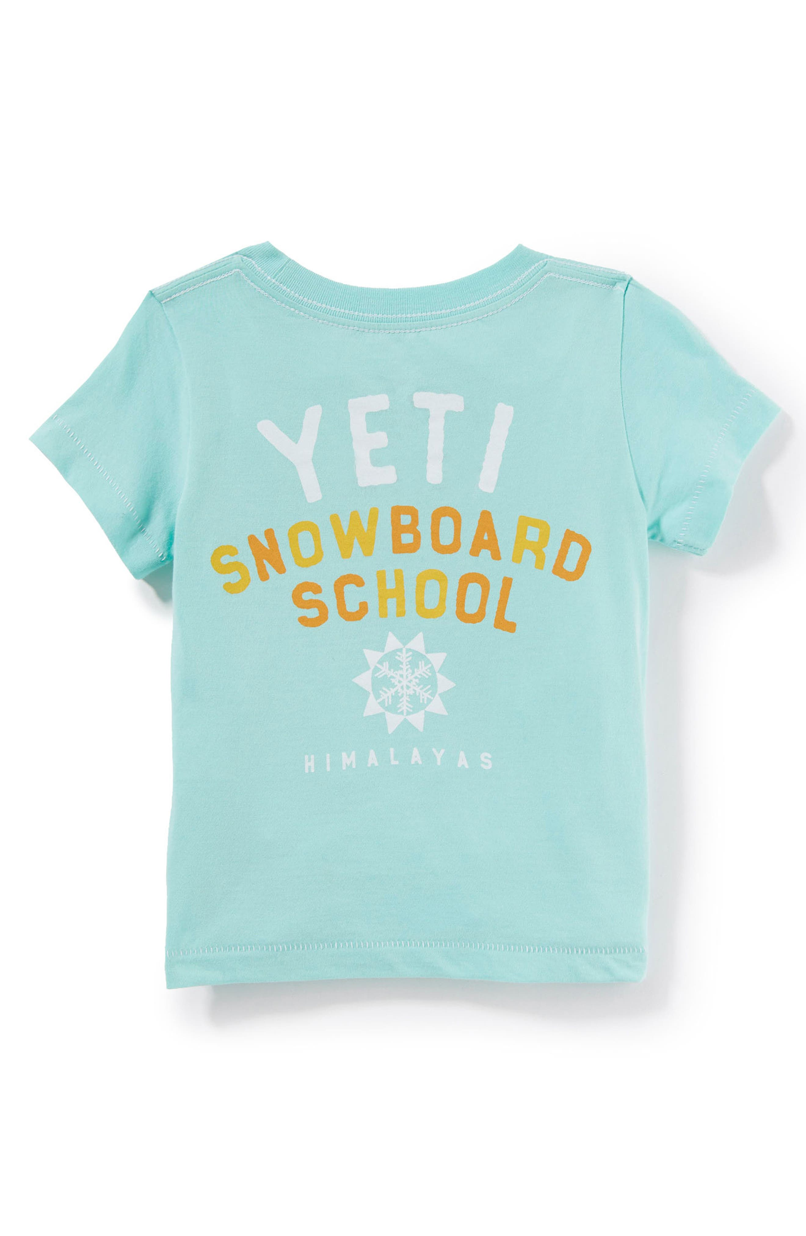 Peek Yeti Snowboard T-Shirt (Baby Boys)