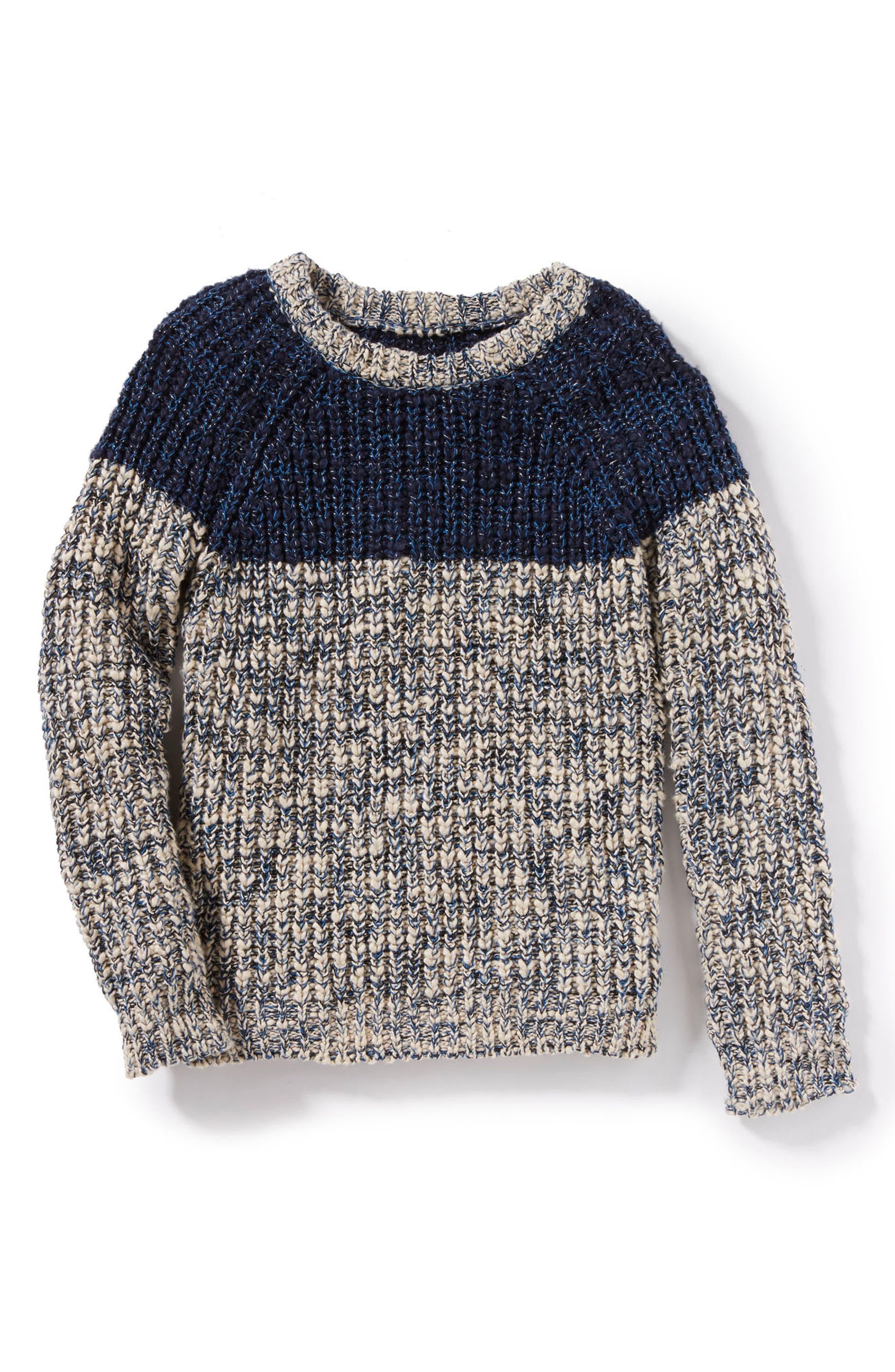 Peek Lucca Colorblocked Sweater (Toddler Boys, Little Boys & Big Boys)