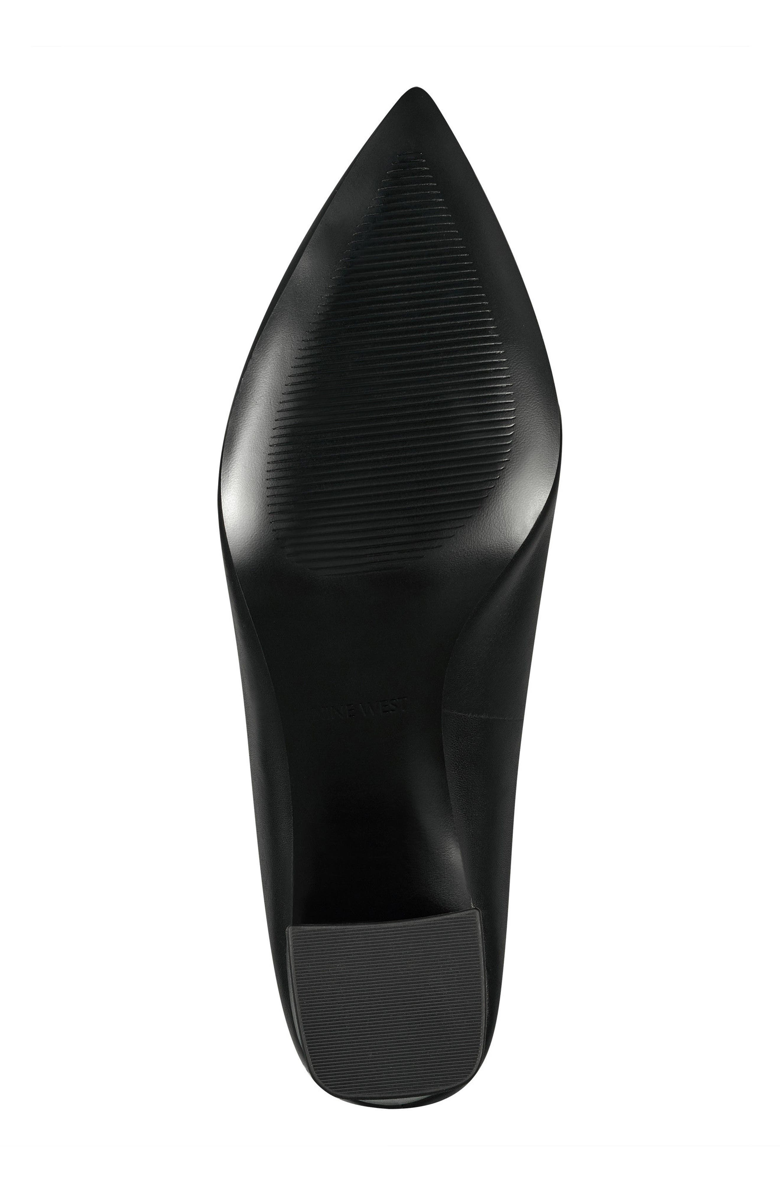 Helmer Mule,                             Alternate thumbnail 6, color,                             Black Leather