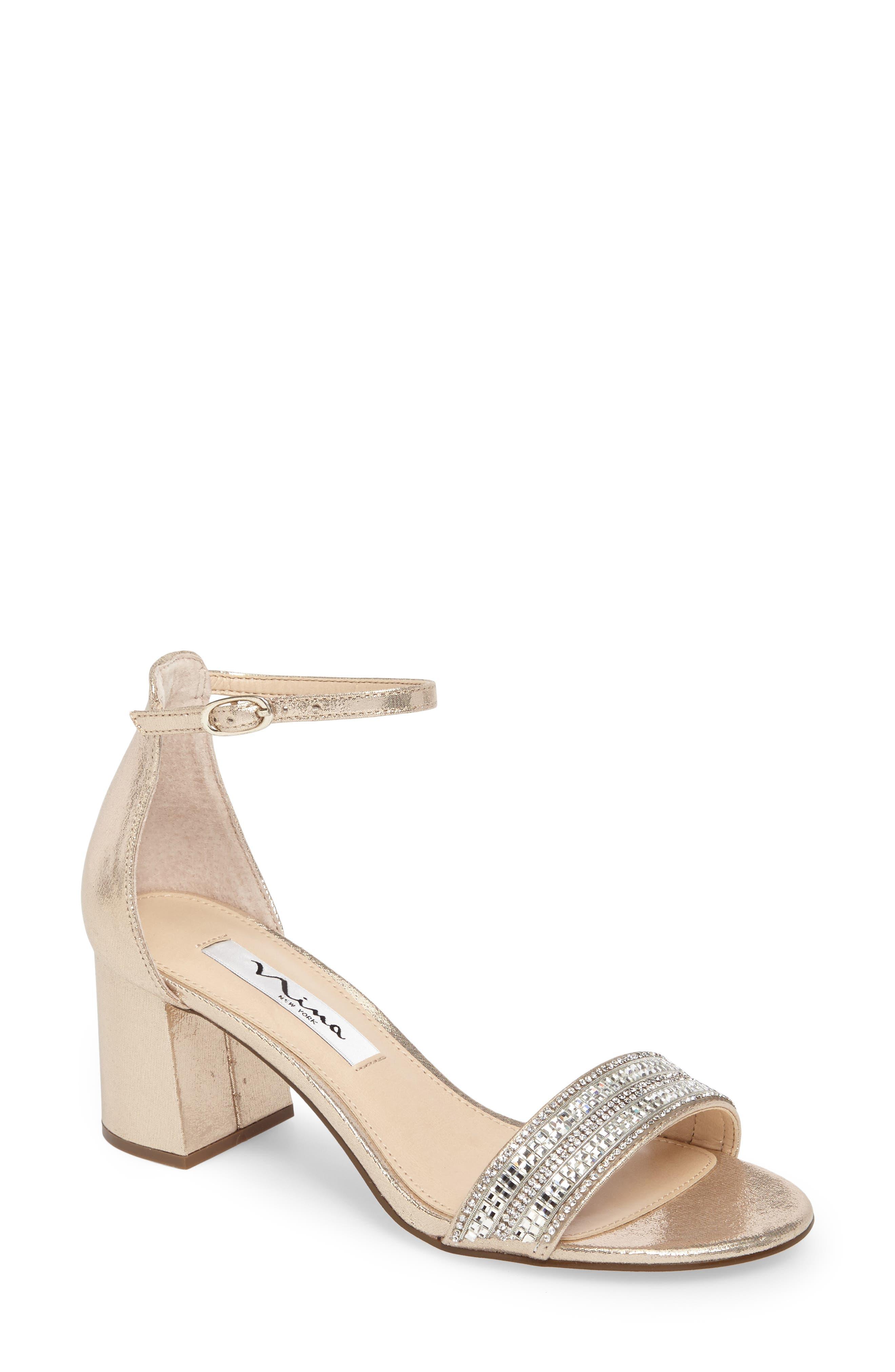d14d7d95ffed Nina Block-Heel Sandals for Women