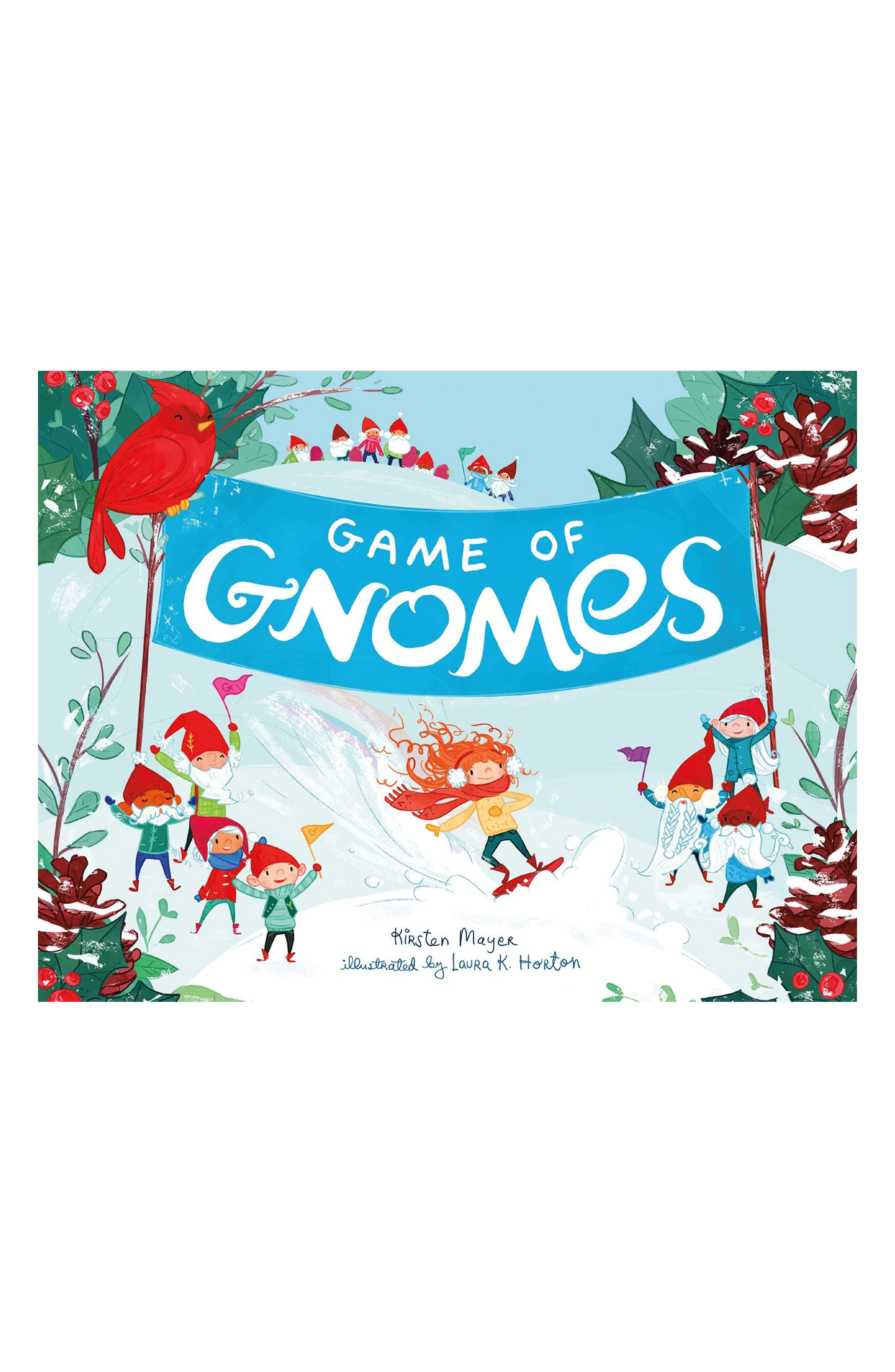 'Game of Gnomes' Book,                         Main,                         color, Blue