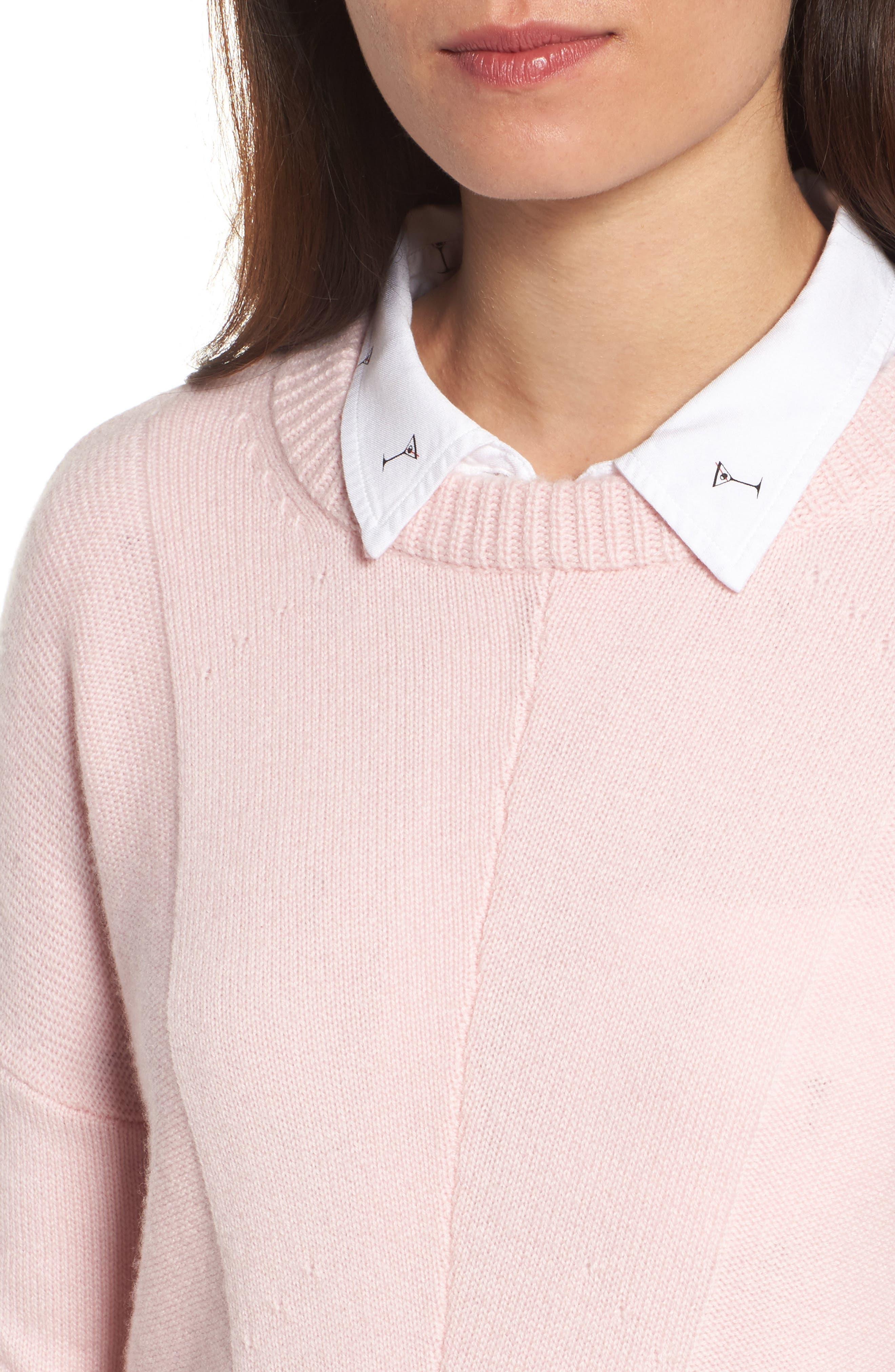 Alternate Image 4  - Rails Joanna Wool & Cashmere Sweater