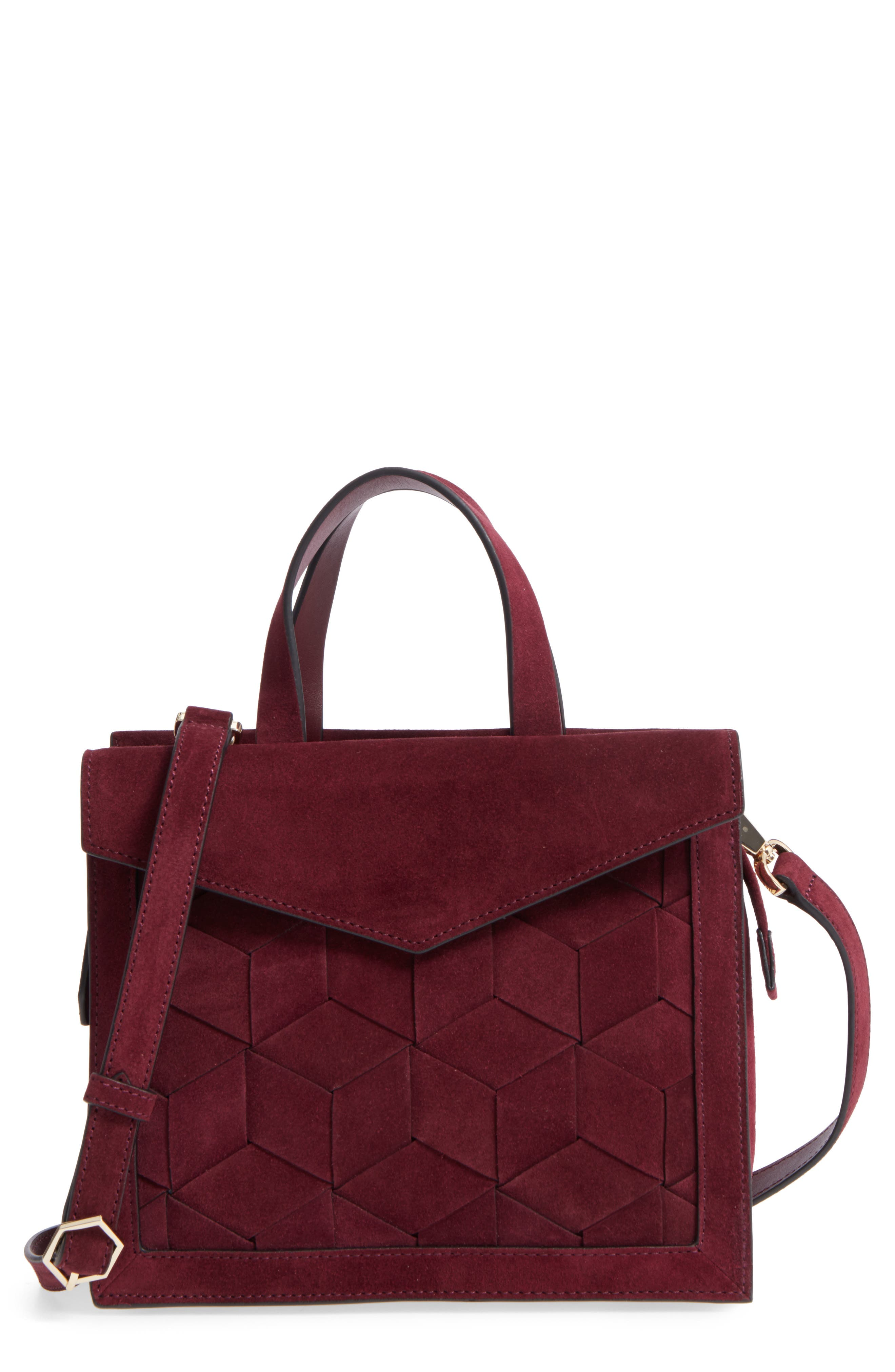 Main Image - WELDEN Small Voyager Leather Convertible Satchel