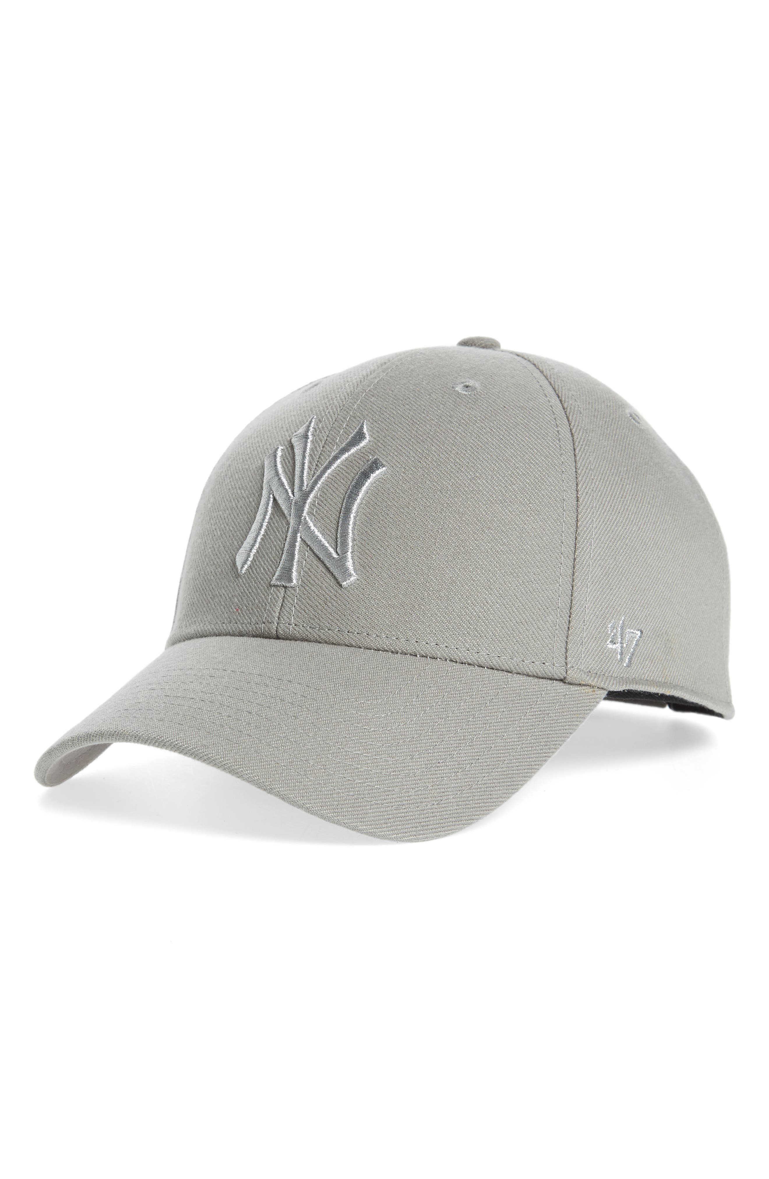 '47 Clean Up NY Yankees Metallic MVP Baseball Cap