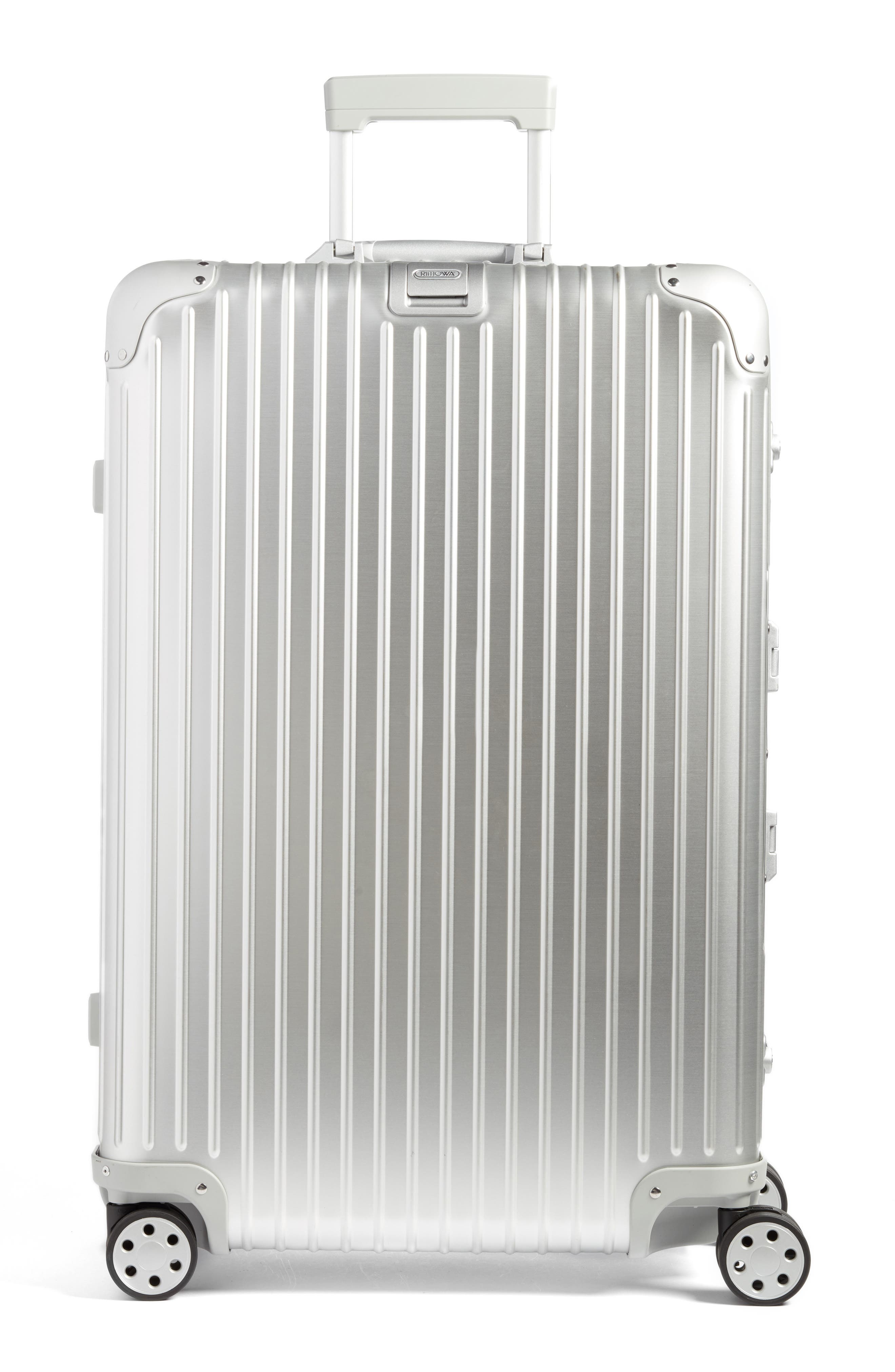 Topas 29-Inch Sport Multiwheel<sup>®</sup> Aluminum Packing Case,                             Main thumbnail 1, color,                             Silver