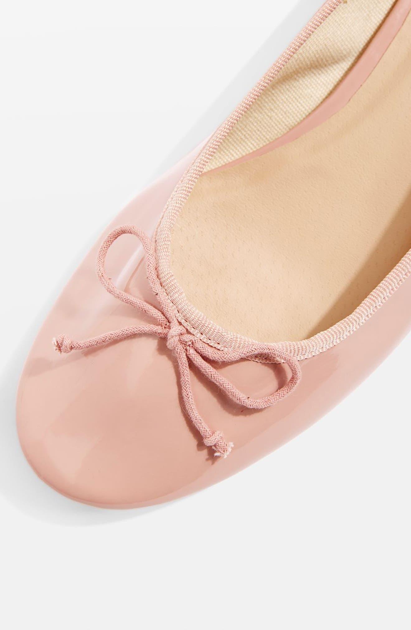 Alternate Image 3  - Topshop Glory Heeled Ballerina Slippers