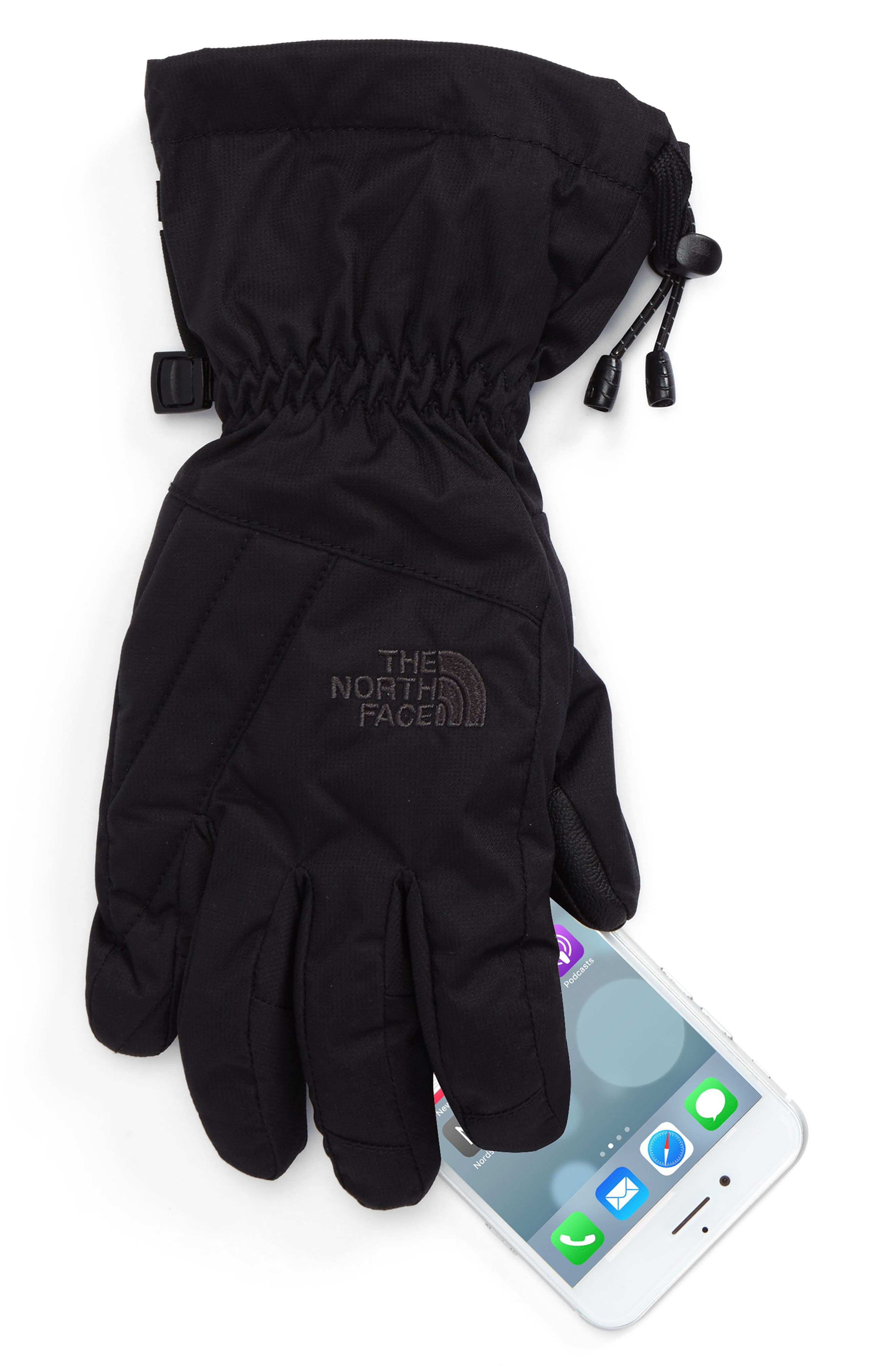 Montana Gore-Tex<sup>®</sup> Gloves,                             Alternate thumbnail 2, color,                             Tnf Black