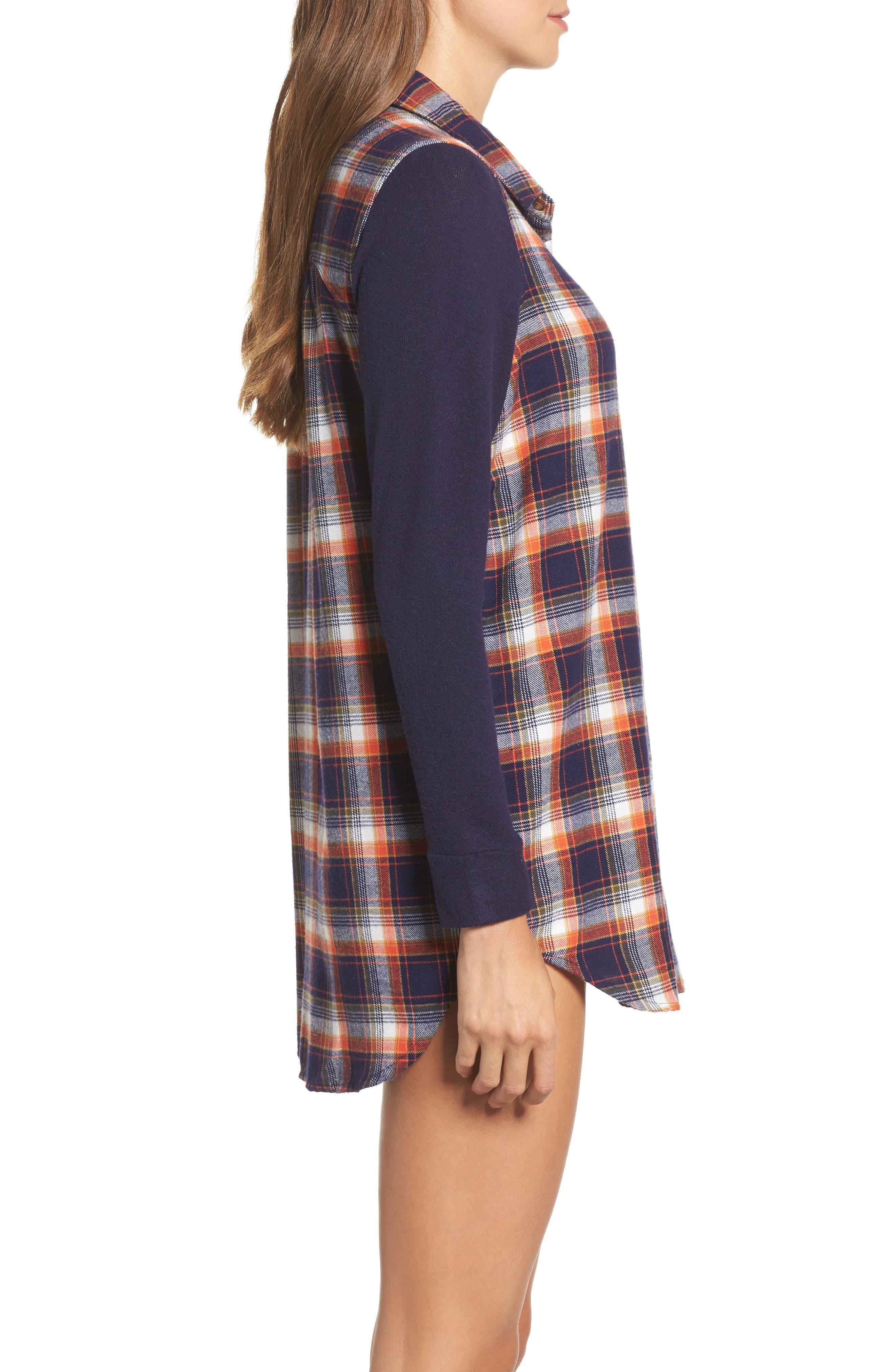 Alternate Image 3  - Make + Model Flannel Nightshirt